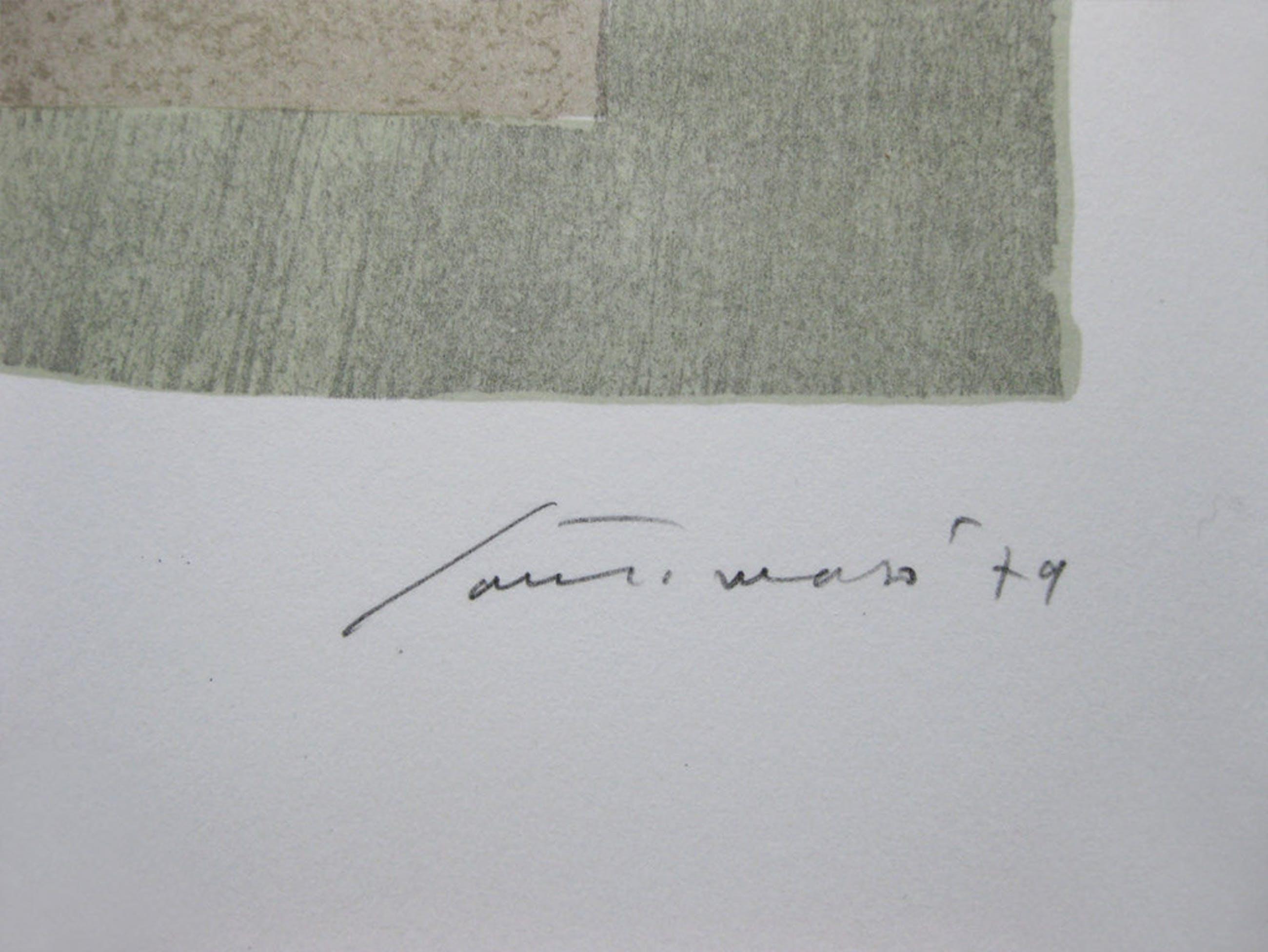 "Giuseppe Santomaso - "" Vento dell'Est - 9 "" - Gesigneerde kleuren litho - 1982 kopen? Bied vanaf 289!"