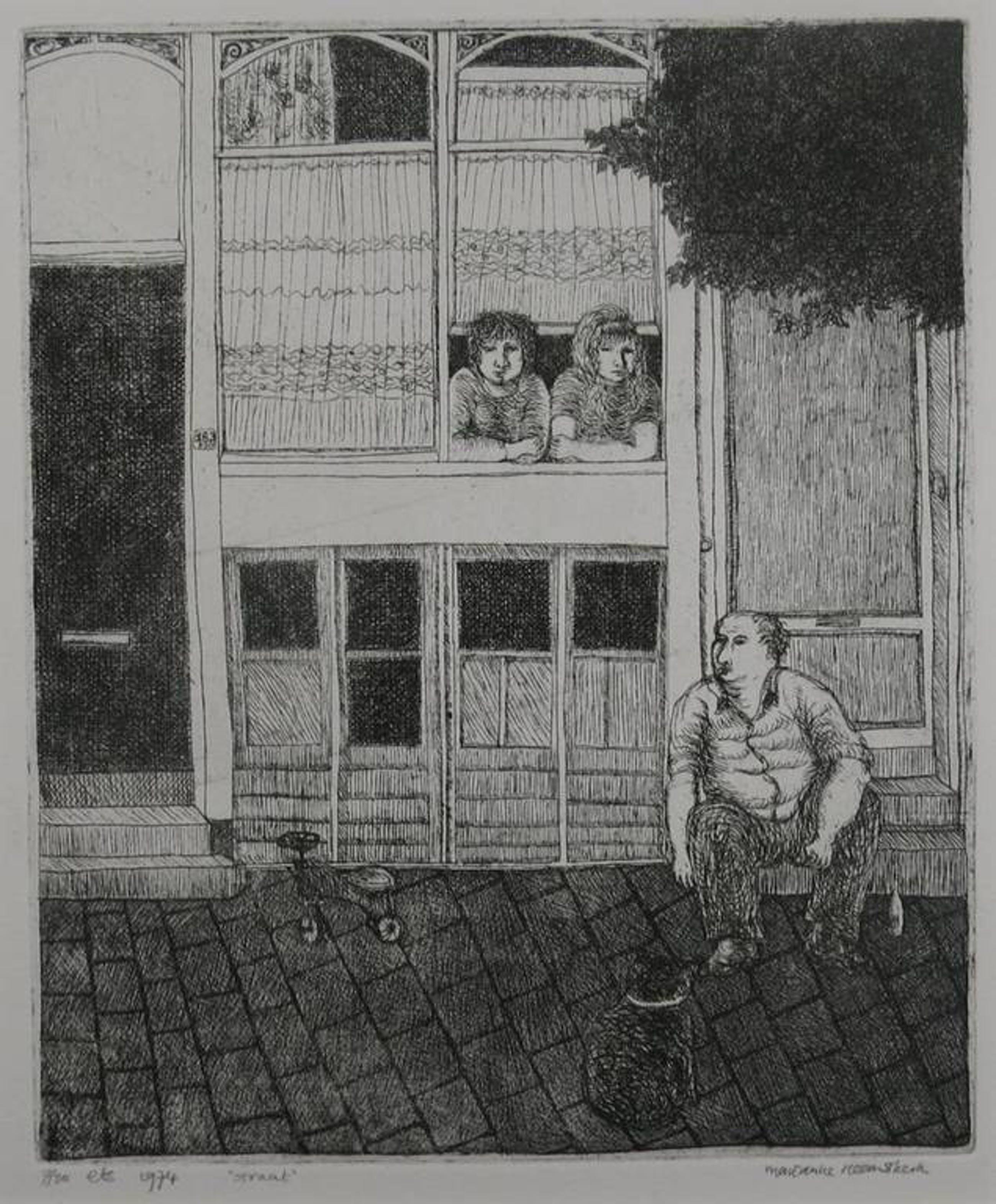 Marianne Heemskerk: Ets, Straat kopen? Bied vanaf 1!