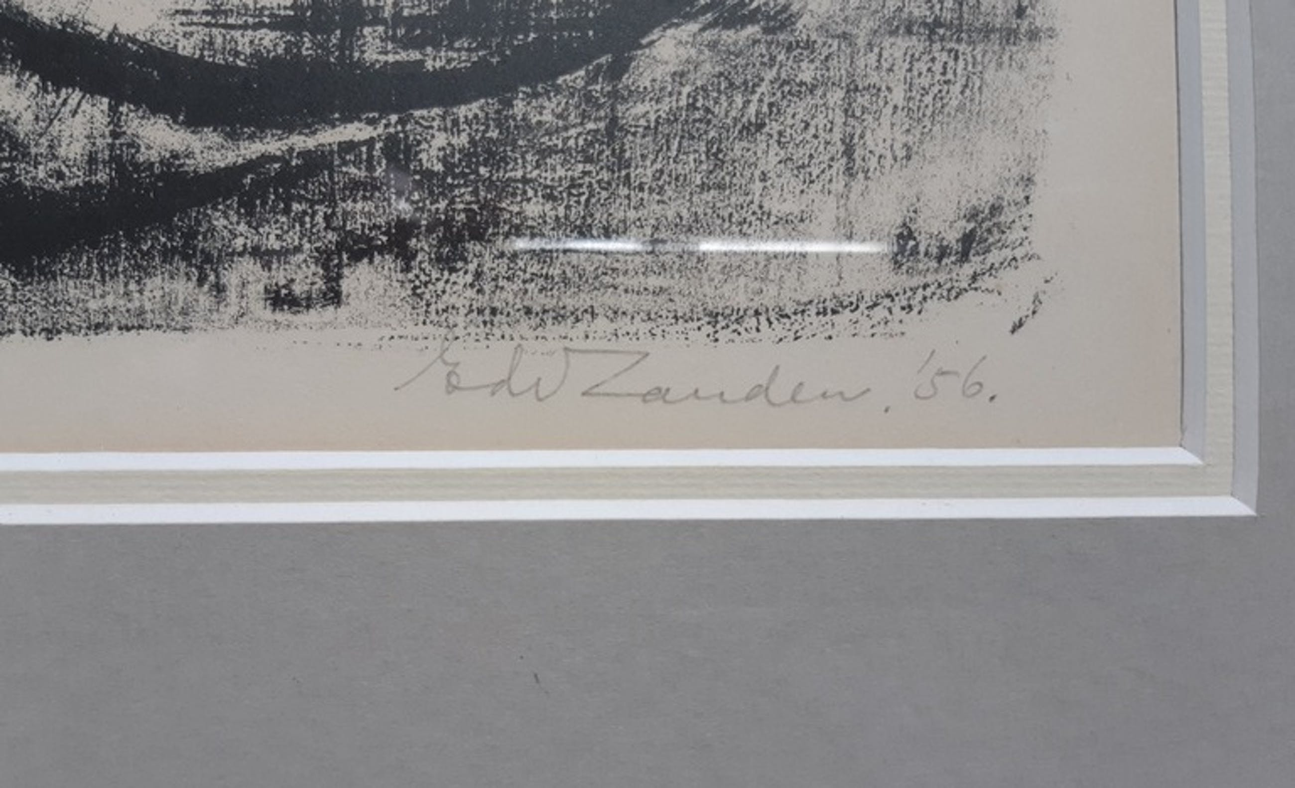 Eduard van Zanden - Eduard van Zanden - Touwtje springen - litho kopen? Bied vanaf 10!