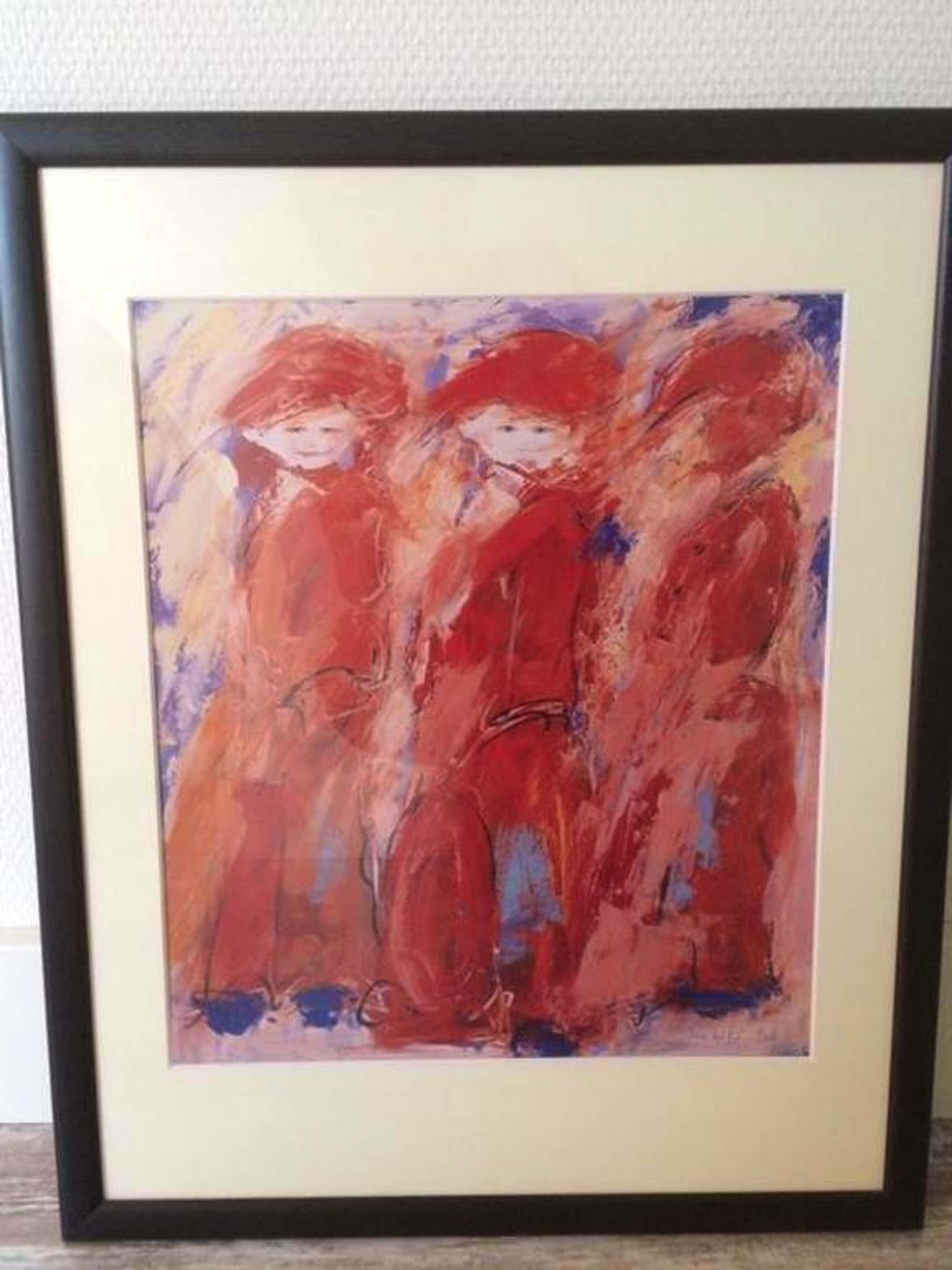 Annemiki Bok, prachtig schilderij *voor zover bekend slechts 1 van gemaakt* kopen? Bied vanaf 200!