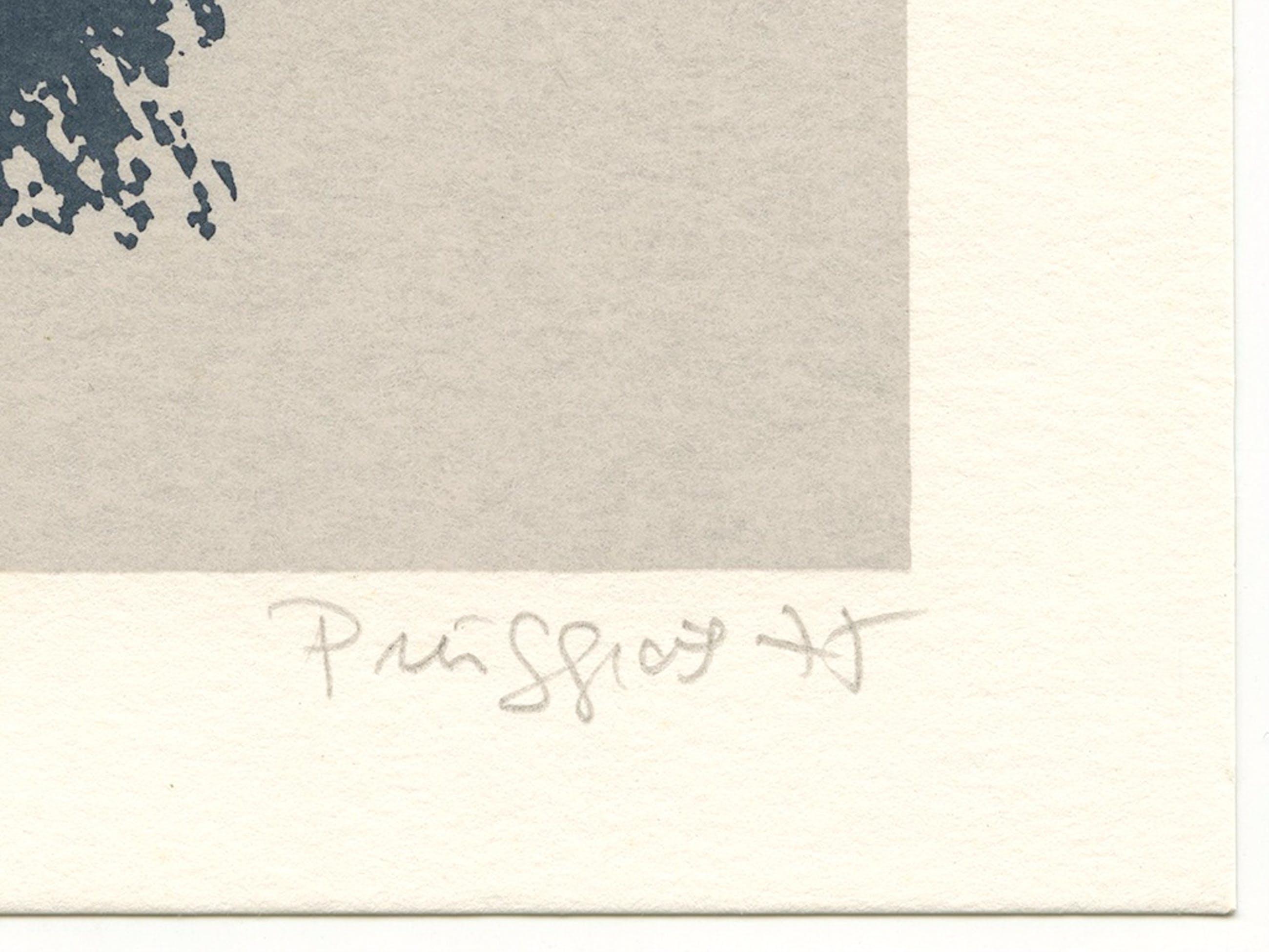 Pere Puiggrós, 'Compositie', litho, handgesigneerd, 1975 kopen? Bied vanaf 15!