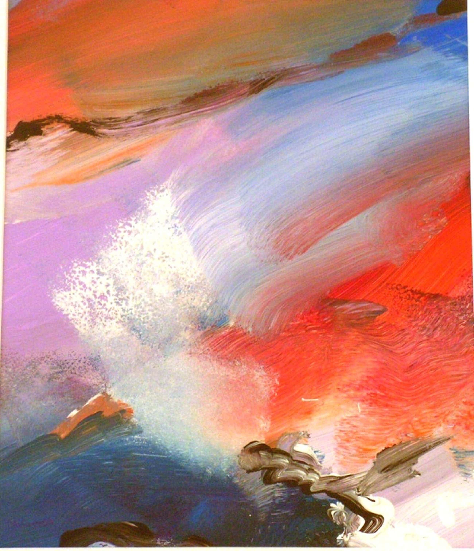 Marten Randa  -  acryl op papier  -  zonder titel. kopen? Bied vanaf 75!