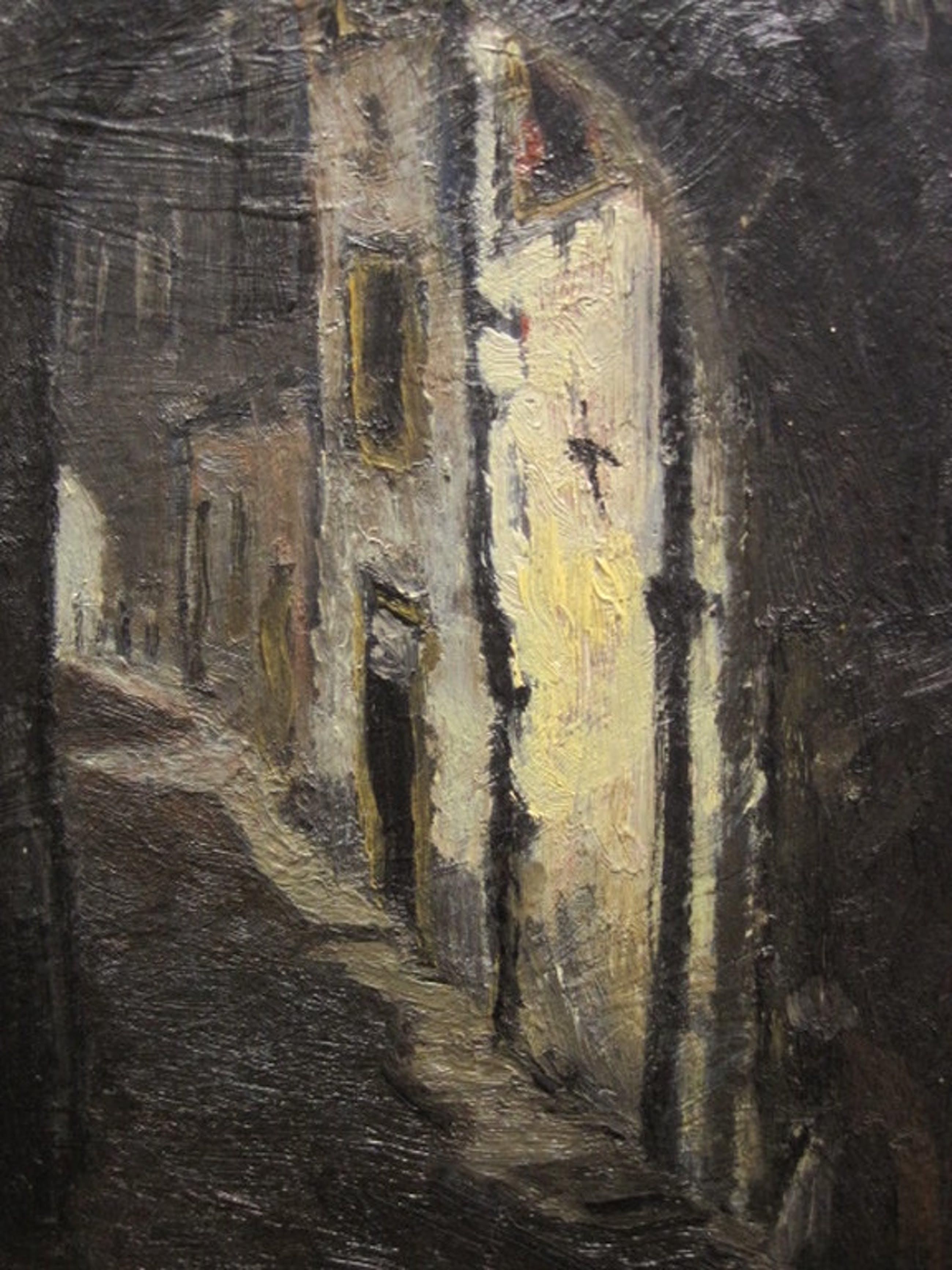 """oud impressionist. olieverf """"doorkijkje De Steeg Gelderland"""" gesigneerd  kopen? Bied vanaf 1!"""