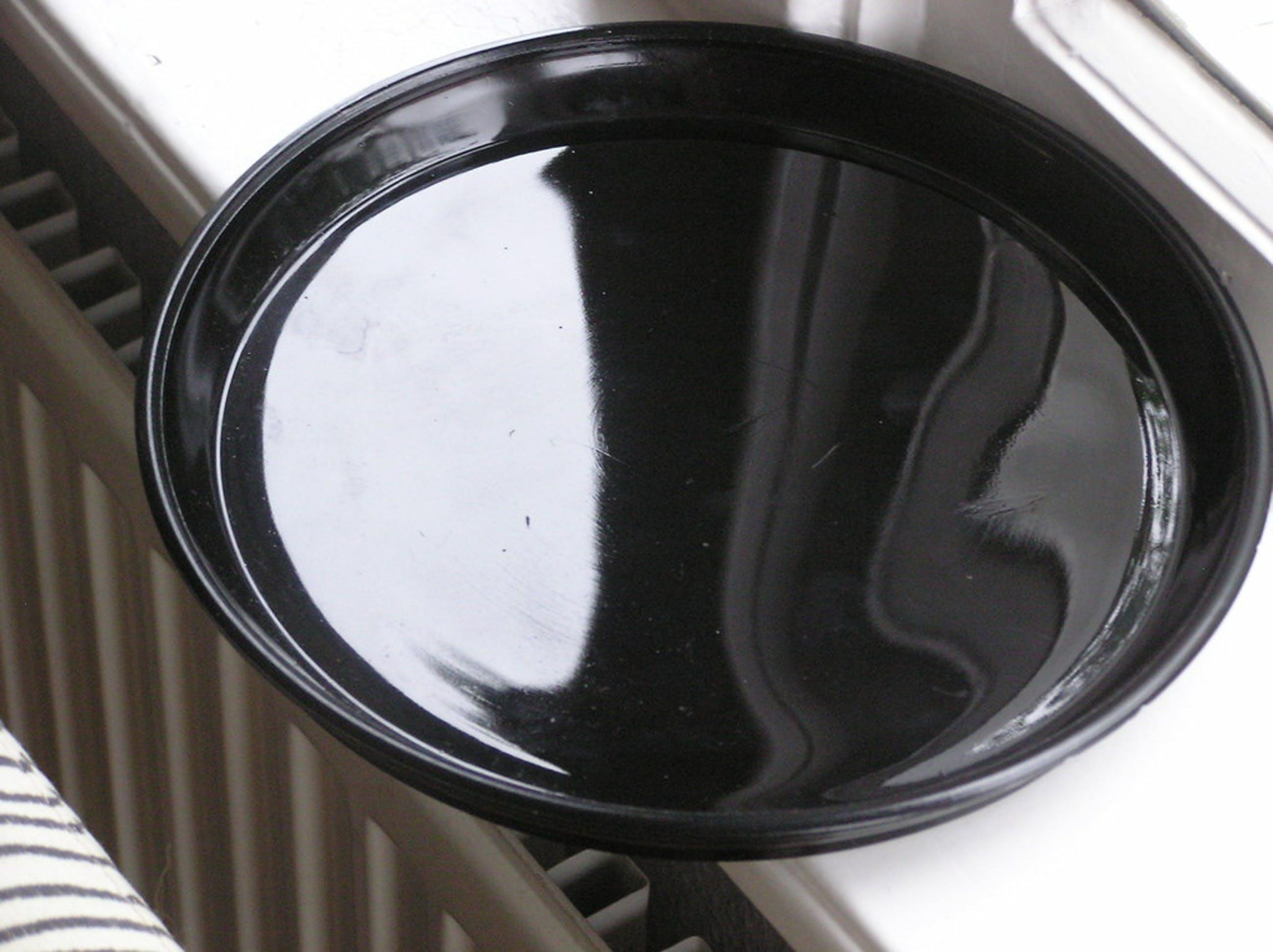 """""""Dienblad Colopal Persglas zwart ontwerp A.D. Copier Jaren'30 kopen? Bied vanaf 12!"""