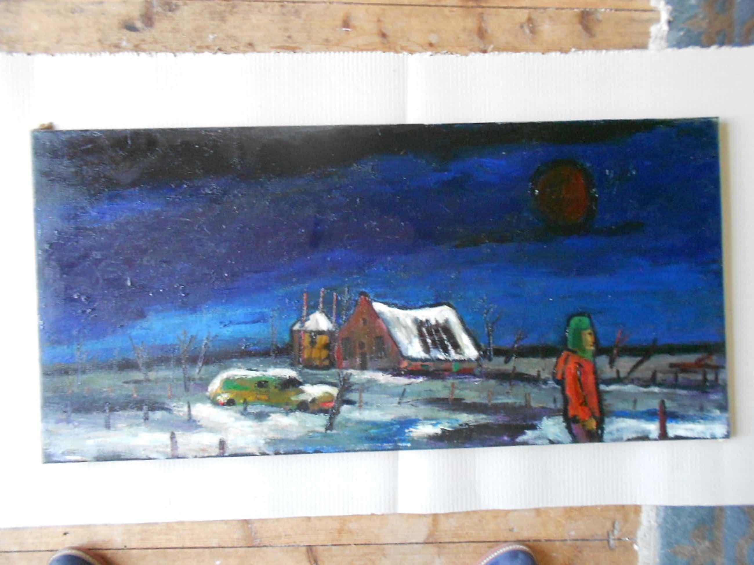 Theo van der horst Olieverfschilderij kopen? Bied vanaf 75!
