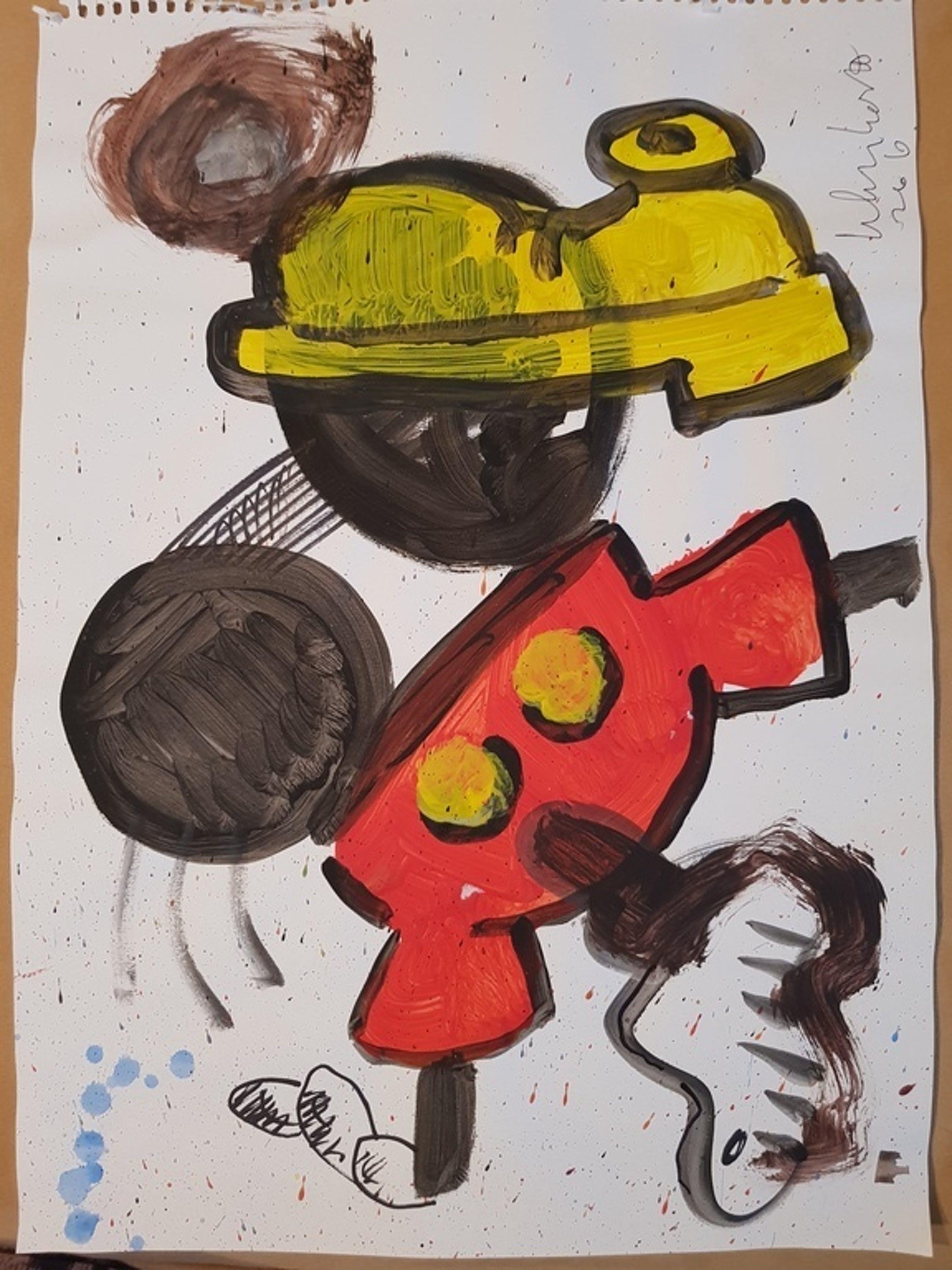 Peter Klashorst - serie Mickey Mouse kopen? Bied vanaf 40!