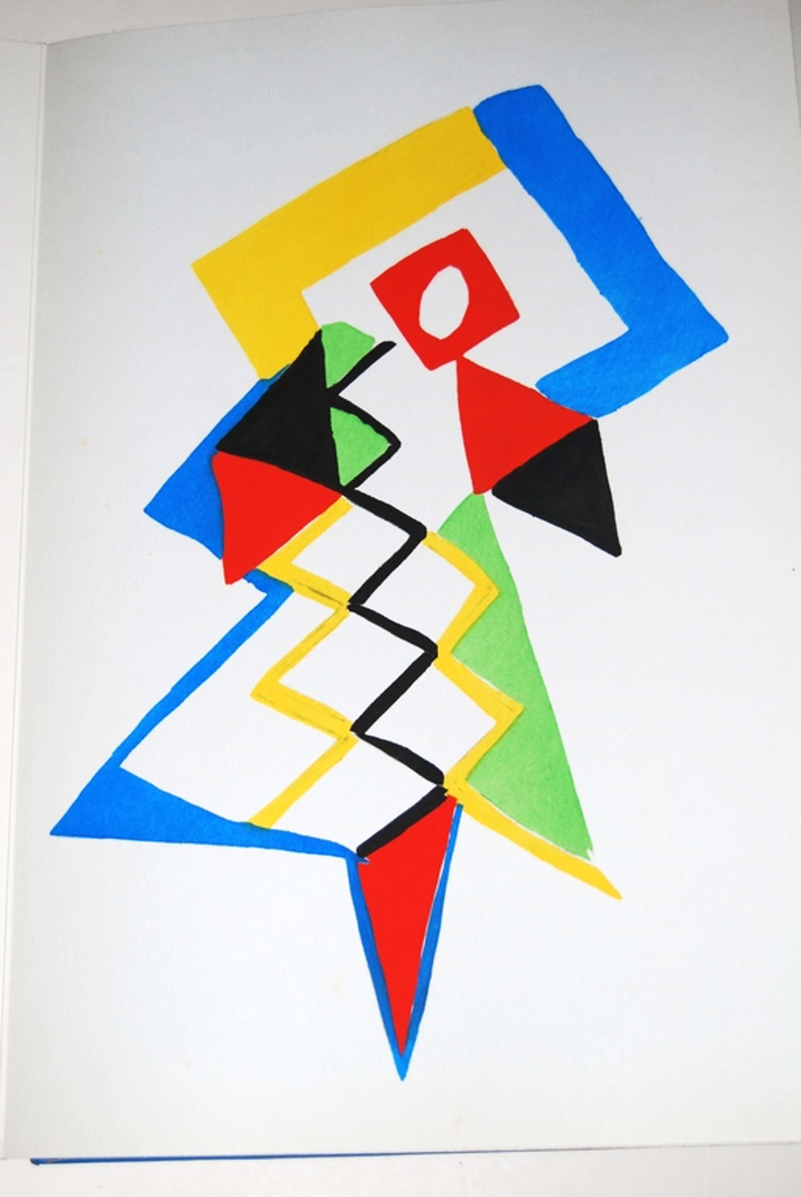 Sonia Delaunay, Tableaux Vivants, 1969, 27 pochoirs van modeontwerpen, nr. 66/500 kopen? Bied vanaf 950!