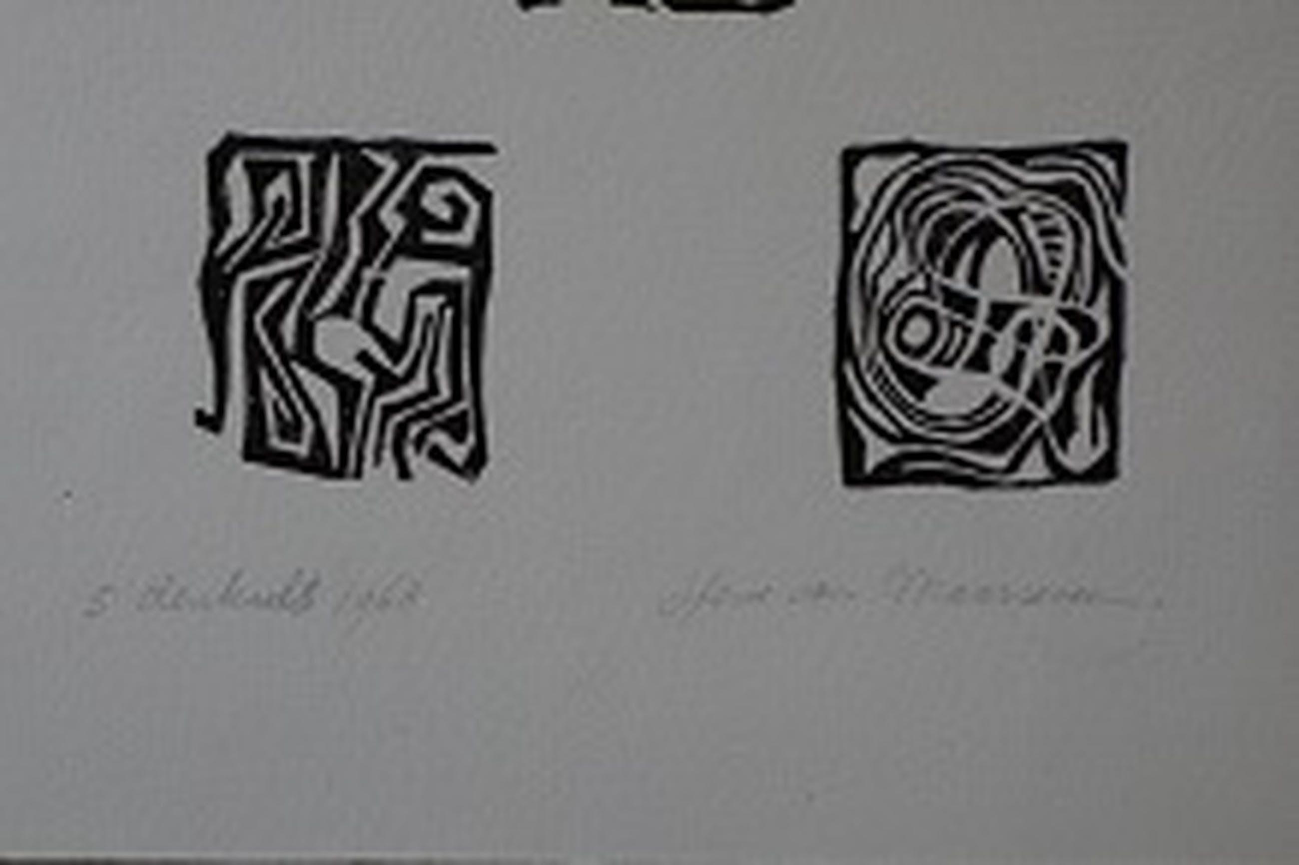 Henc van Maarseveen, 5 druksels 1968. kopen? Bied vanaf 10!