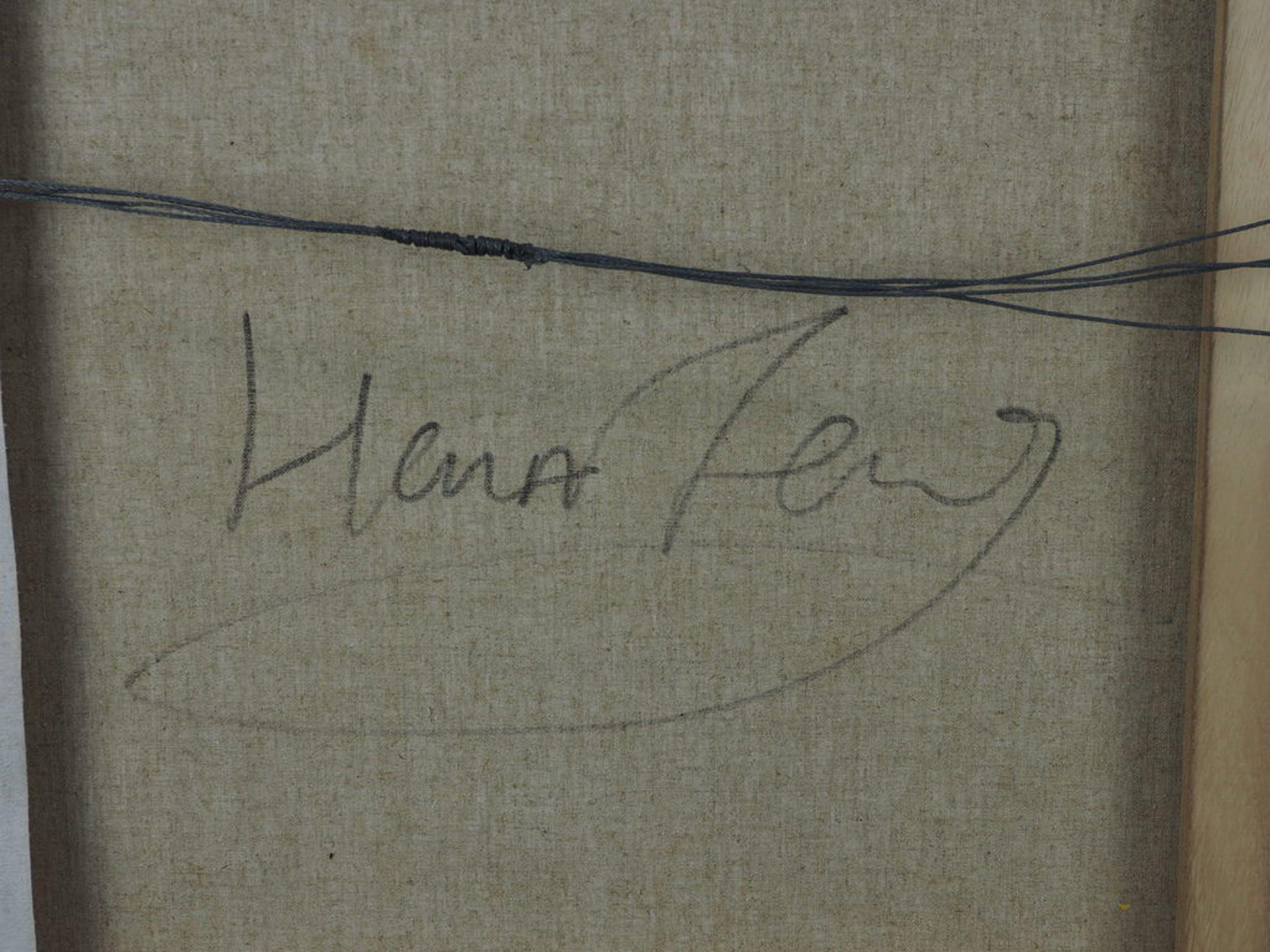 Han Teng: Origineel op linnen, zonder titel kopen? Bied vanaf 100!