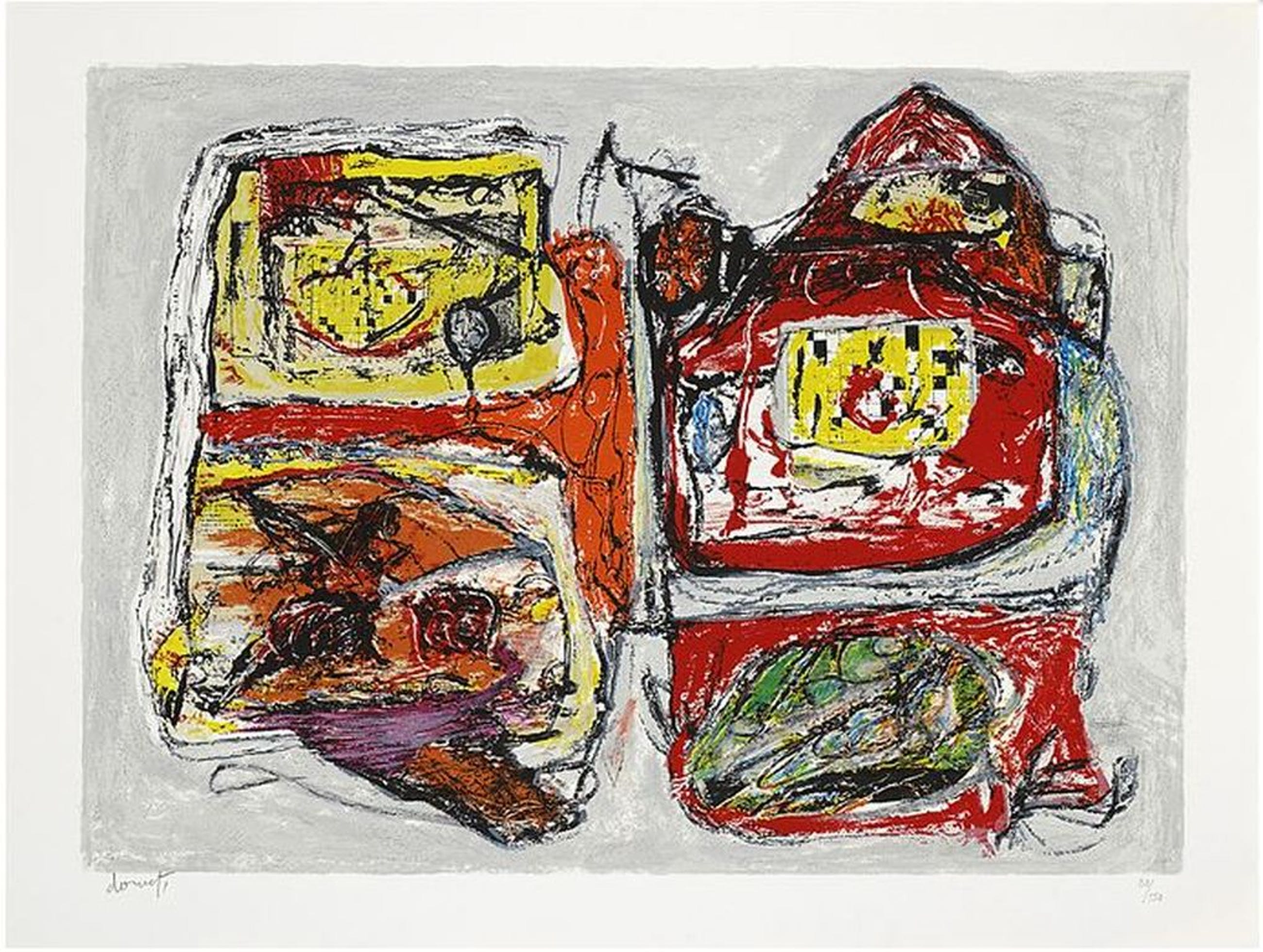 Jacques Doucet: Portfolio 3x litho, Rivages-Visages-Paysages du Sepik (Groot!) kopen? Bied vanaf 320!
