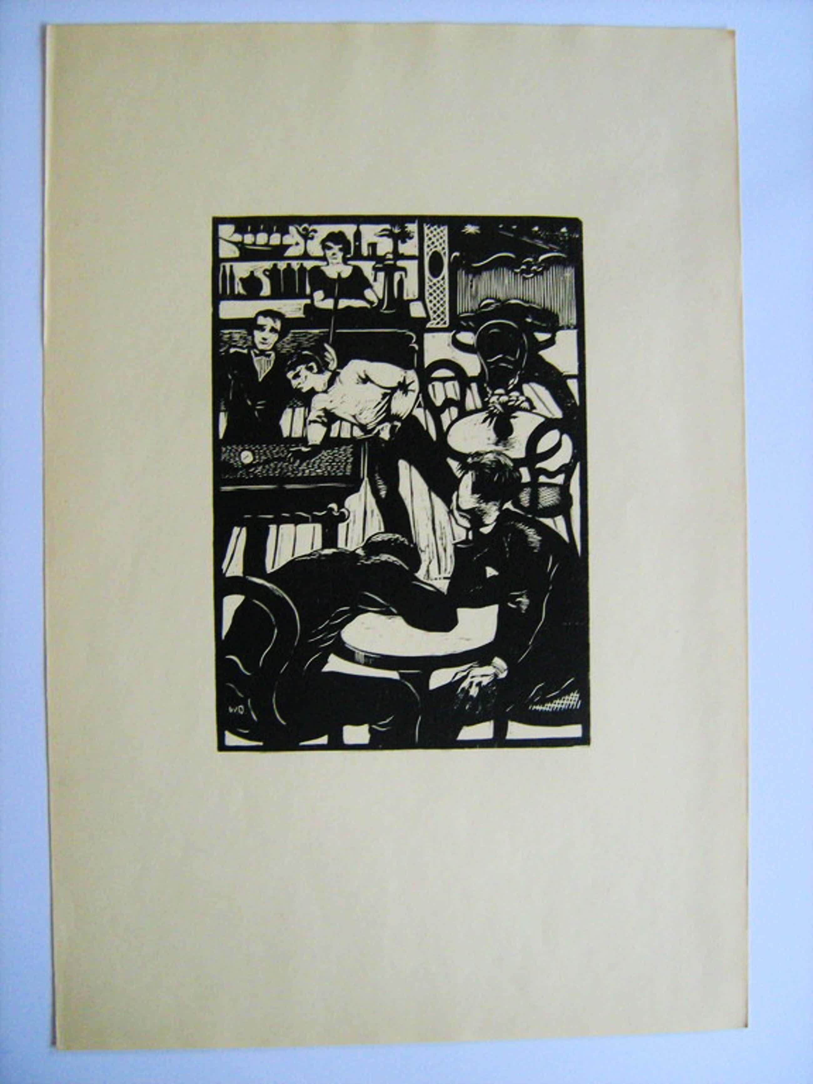 Wim Oepts - Houtsnede - 1929 kopen? Bied vanaf 47!