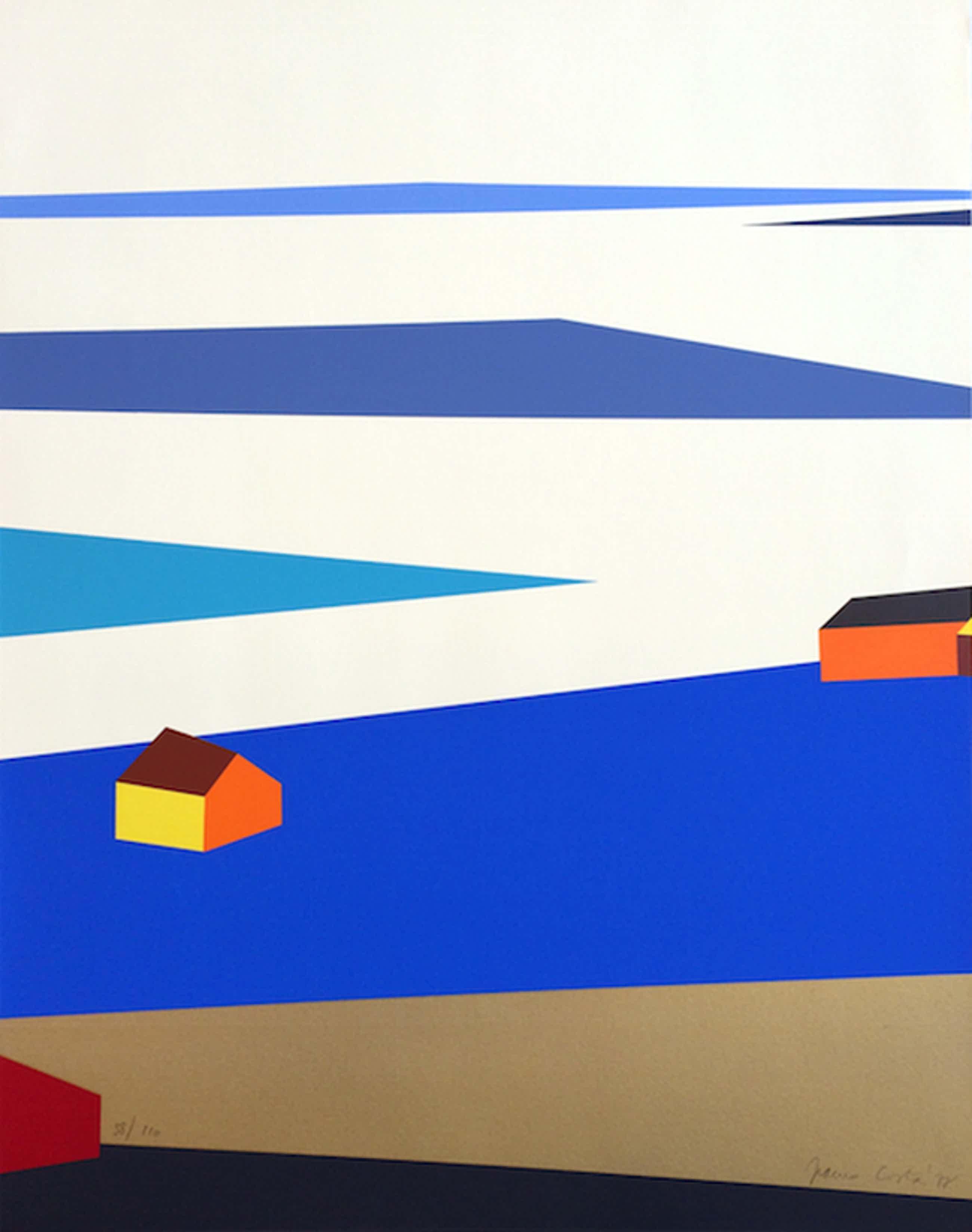 Franco Costa, mooie zeefdruk, Light of Sweden 2, 1977 kopen? Bied vanaf 50!