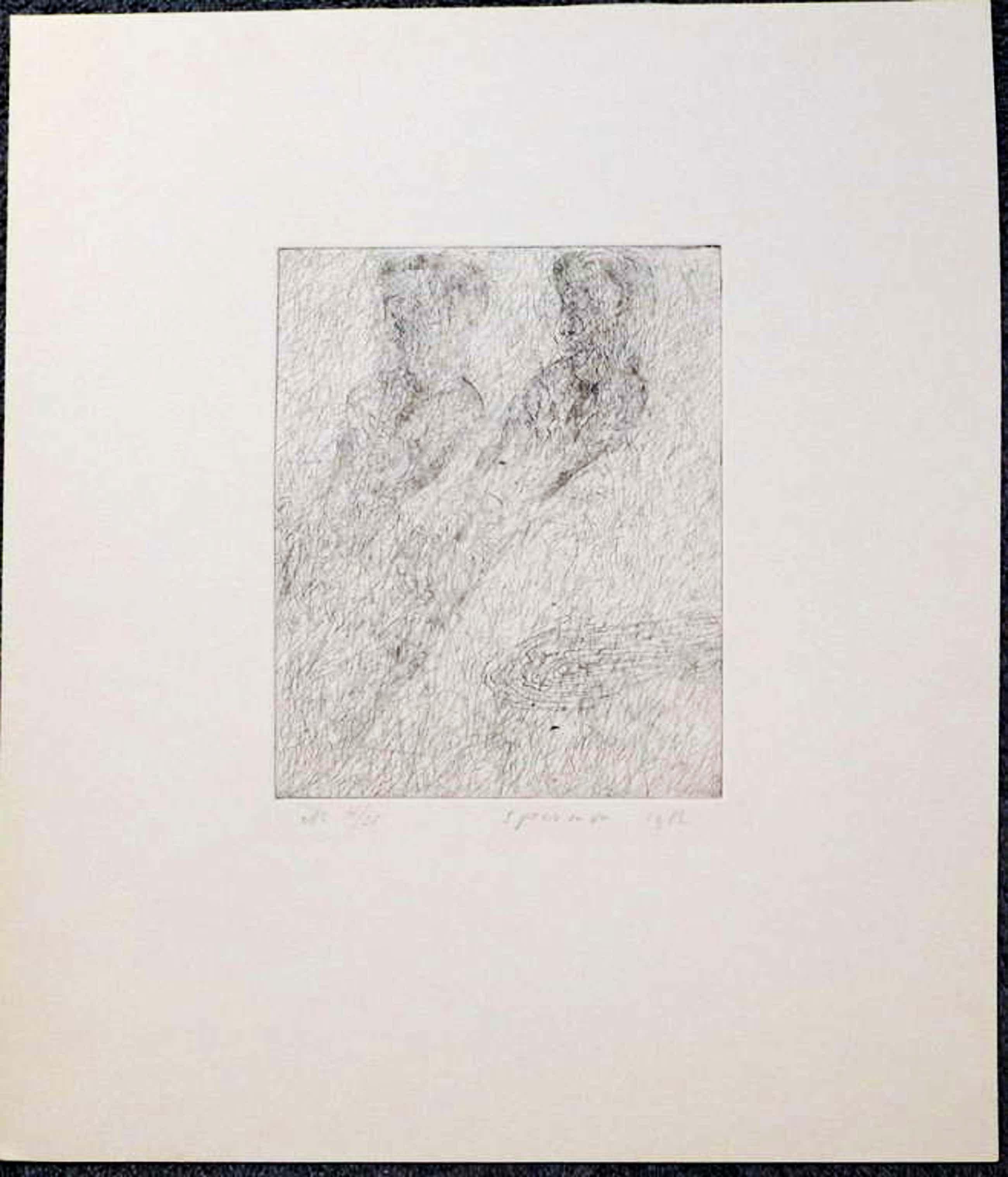 Kees Spermon - Kees Spermon oplag 4/25 beeldformaat 19.8 x 16 cm. bladformaat 41.4 x 35.7 cm. kopen? Bied vanaf 75!