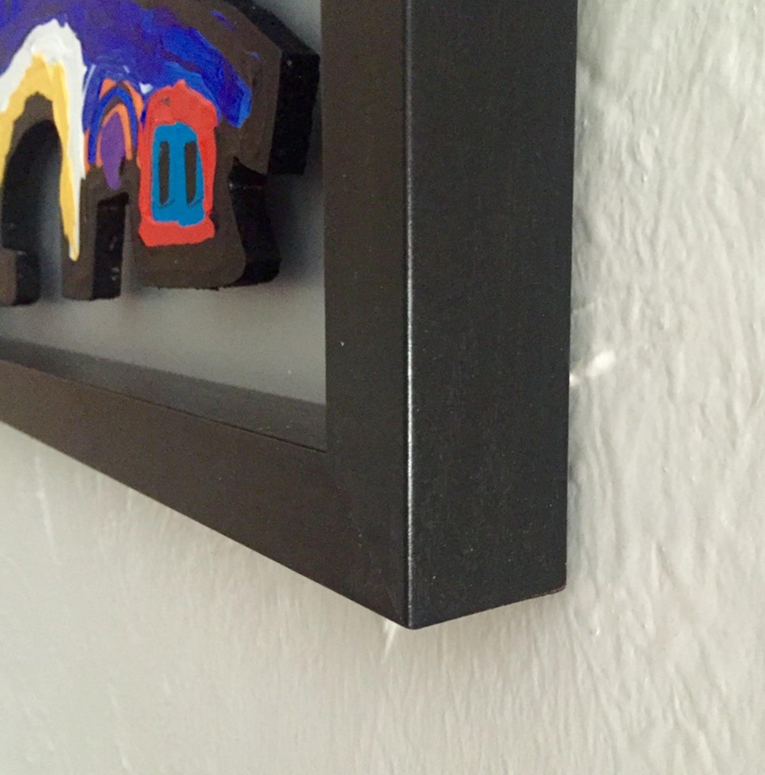 AD VAN HASSEL, 'Cobra Head' - schilderij: acrylverf op MDF (incl. lijst) kopen? Bied vanaf 59!