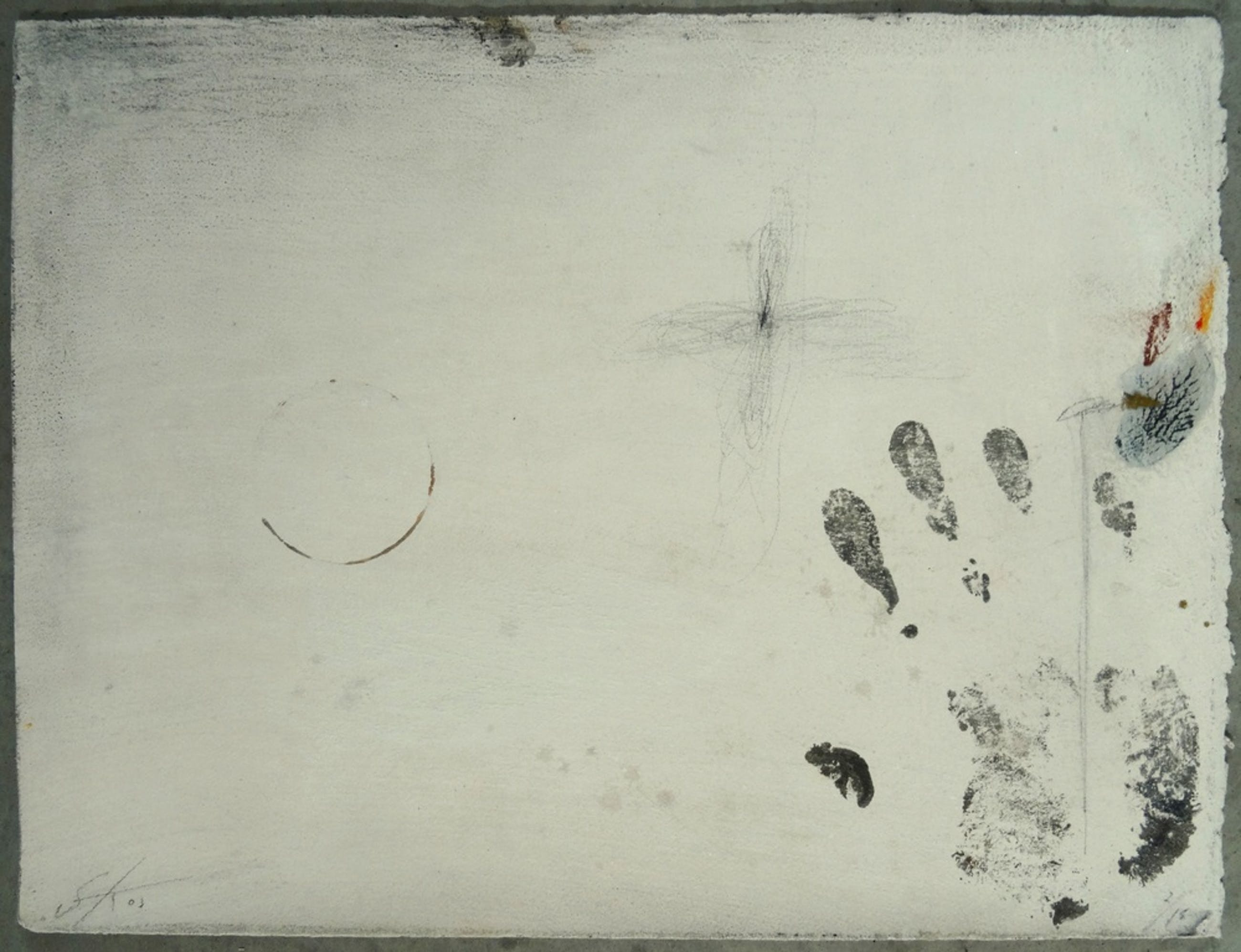 Sjaak Korsten, Monotype, ''Fading Flowers II'' kopen? Bied vanaf 10!