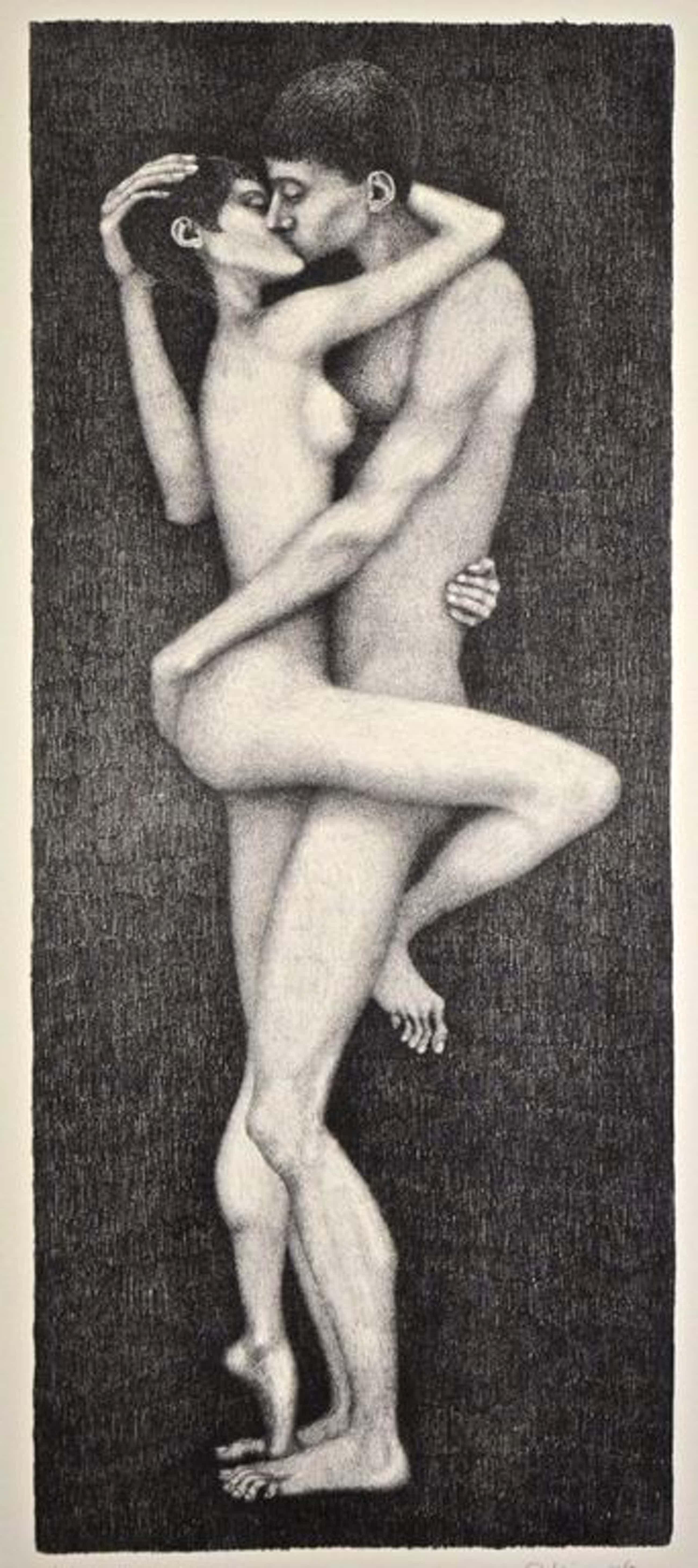 Paul Koning: Litho. Erotische voorstelling. kopen? Bied vanaf 60!