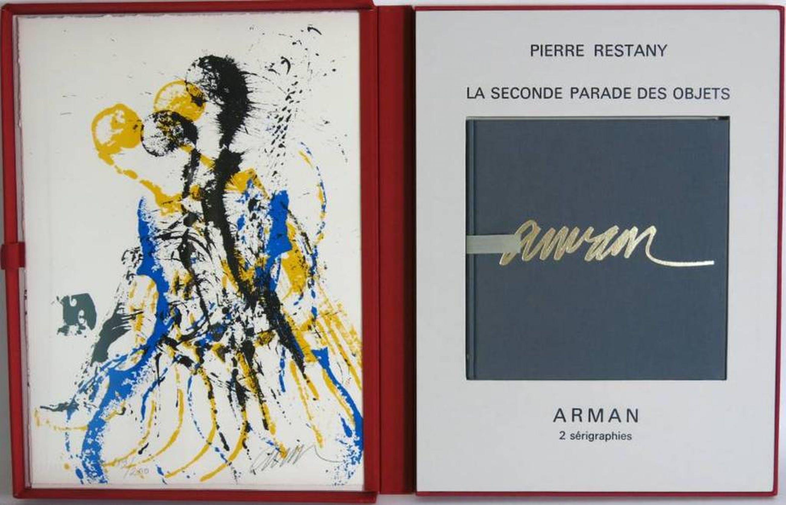 Arman: Portfolio: La Seconde Parade des Objets, 2x Zeefdruk + boek kopen? Bied vanaf 200!