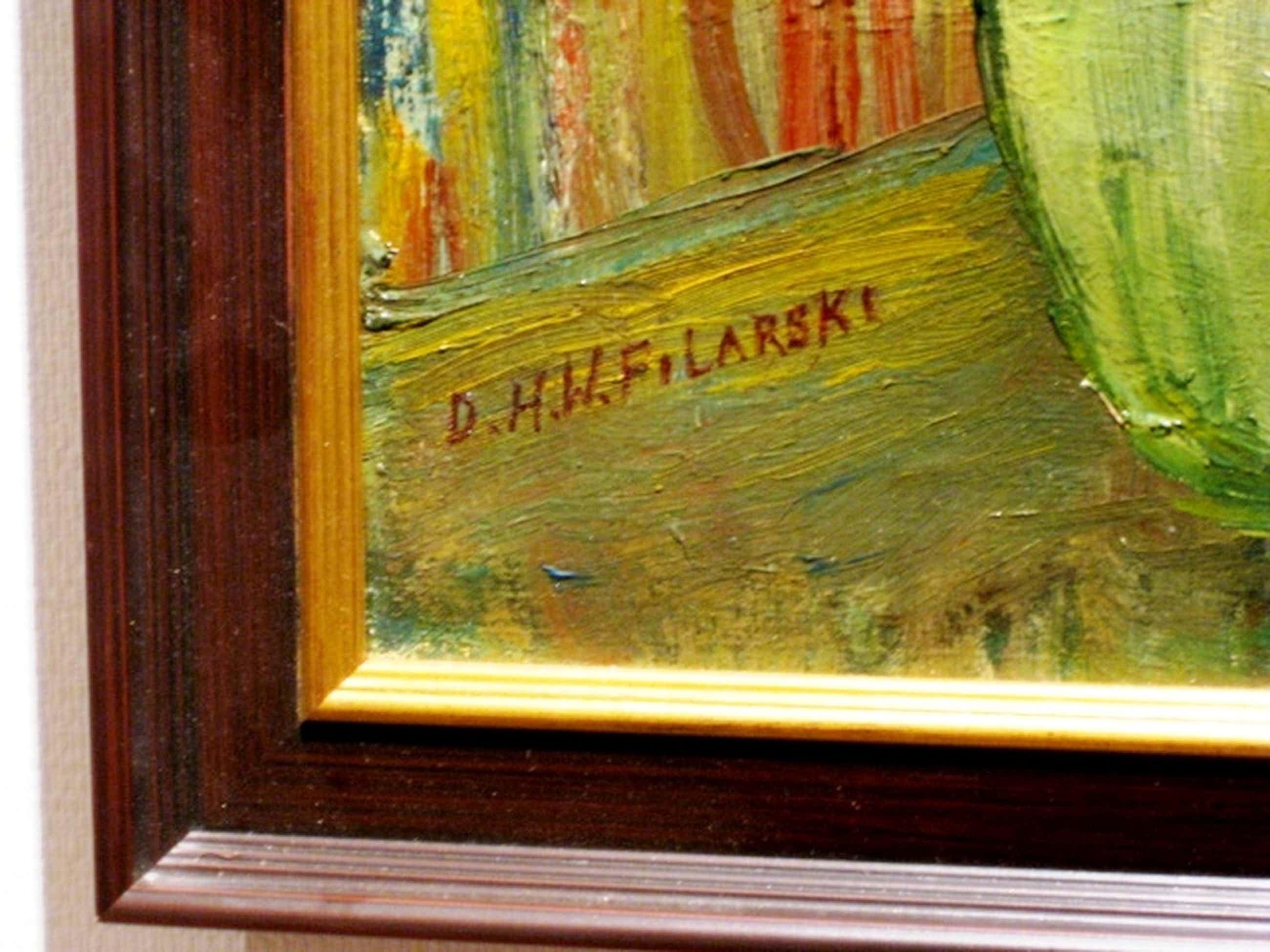 Dirk Filarski 1885-1964. Bergense school. Fauvistisch Bloemstilleven. kopen? Bied vanaf 750!
