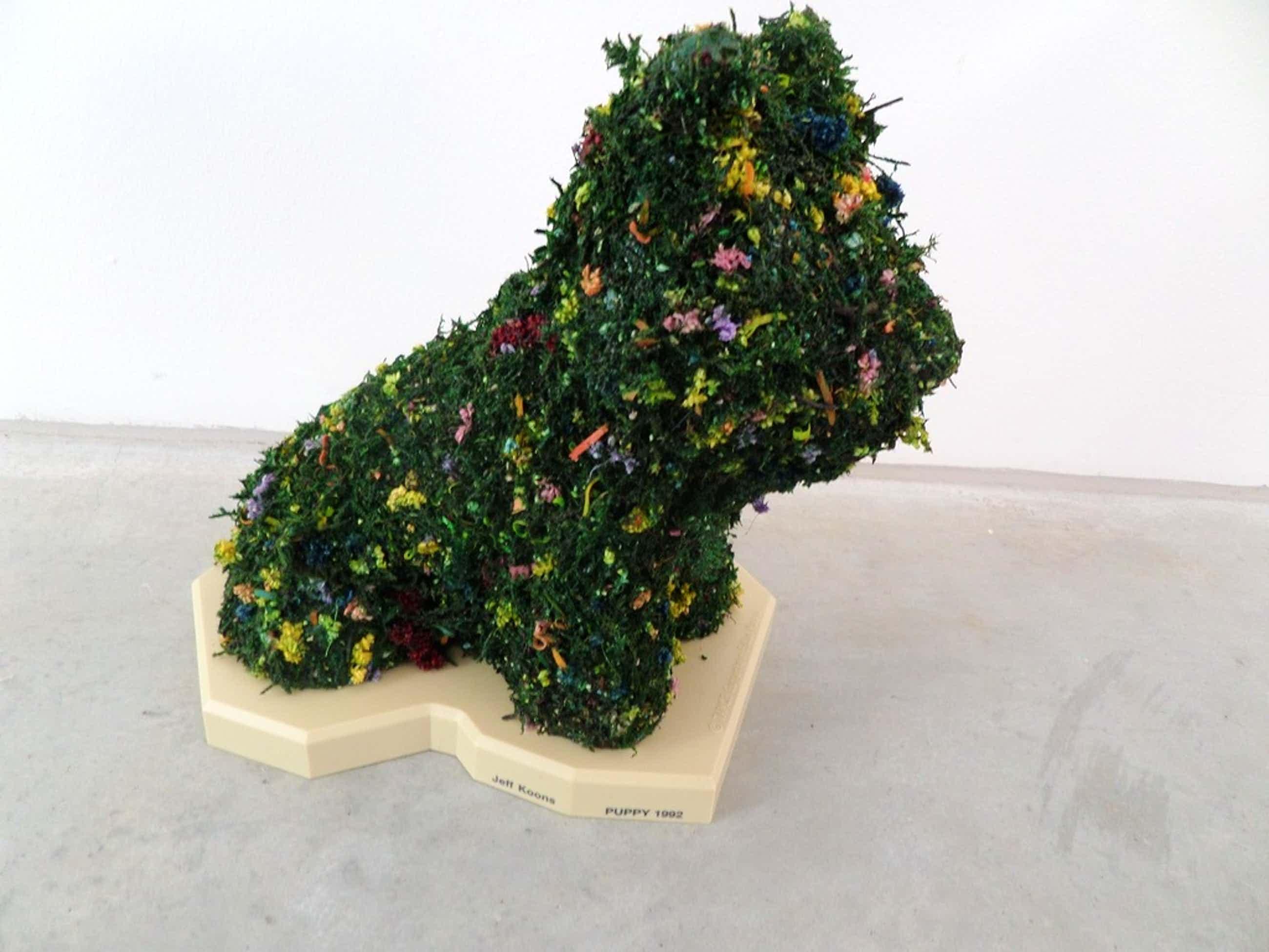 Jeff Koons, Guggenheim Multiple, Puppy 1992, handversierd zeldzaam kopen? Bied vanaf 250!