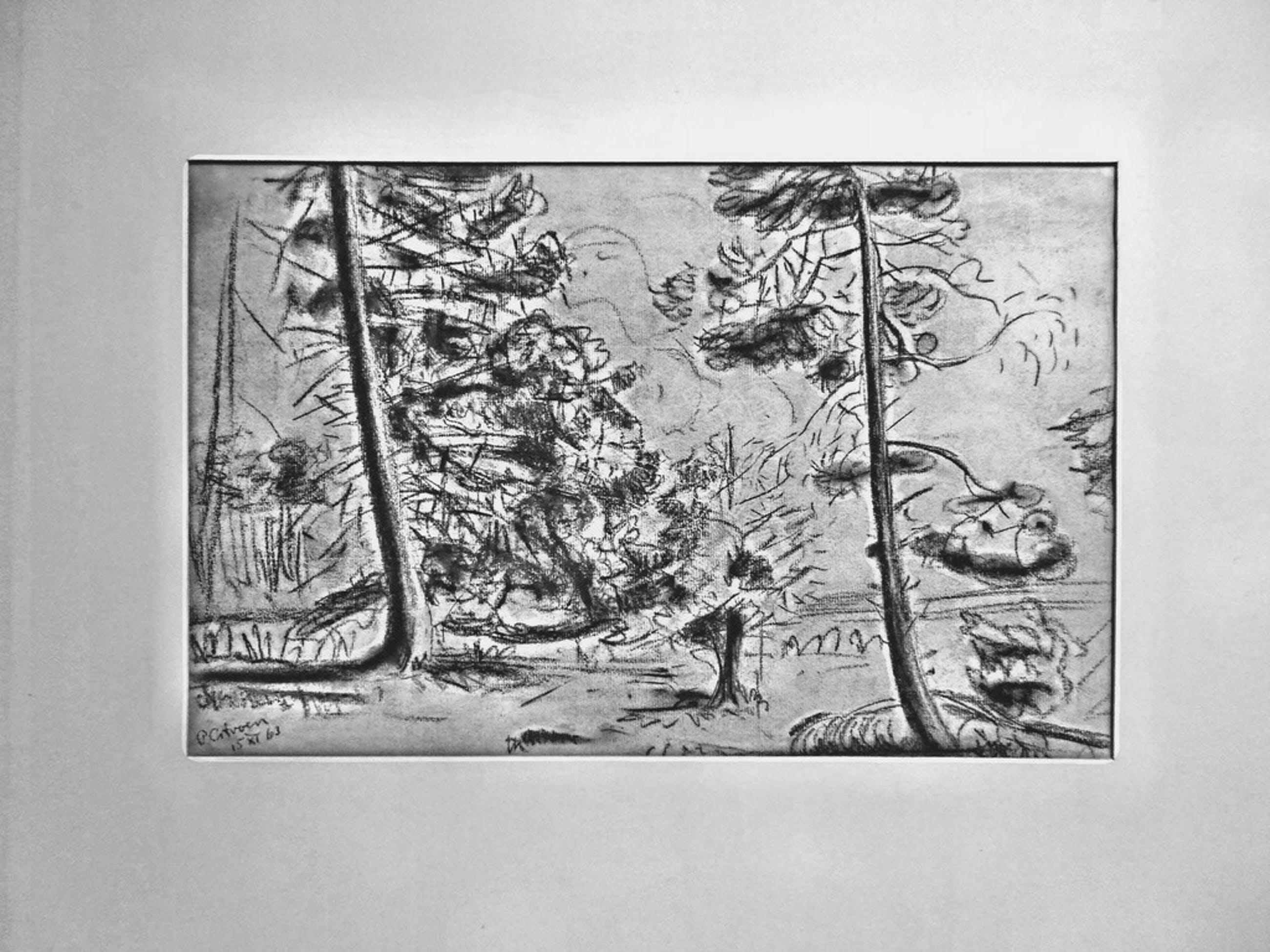 Paul Citroen Originele Houtskool/potlood tekening gesigneerd en gedateerd kopen? Bied vanaf 400!