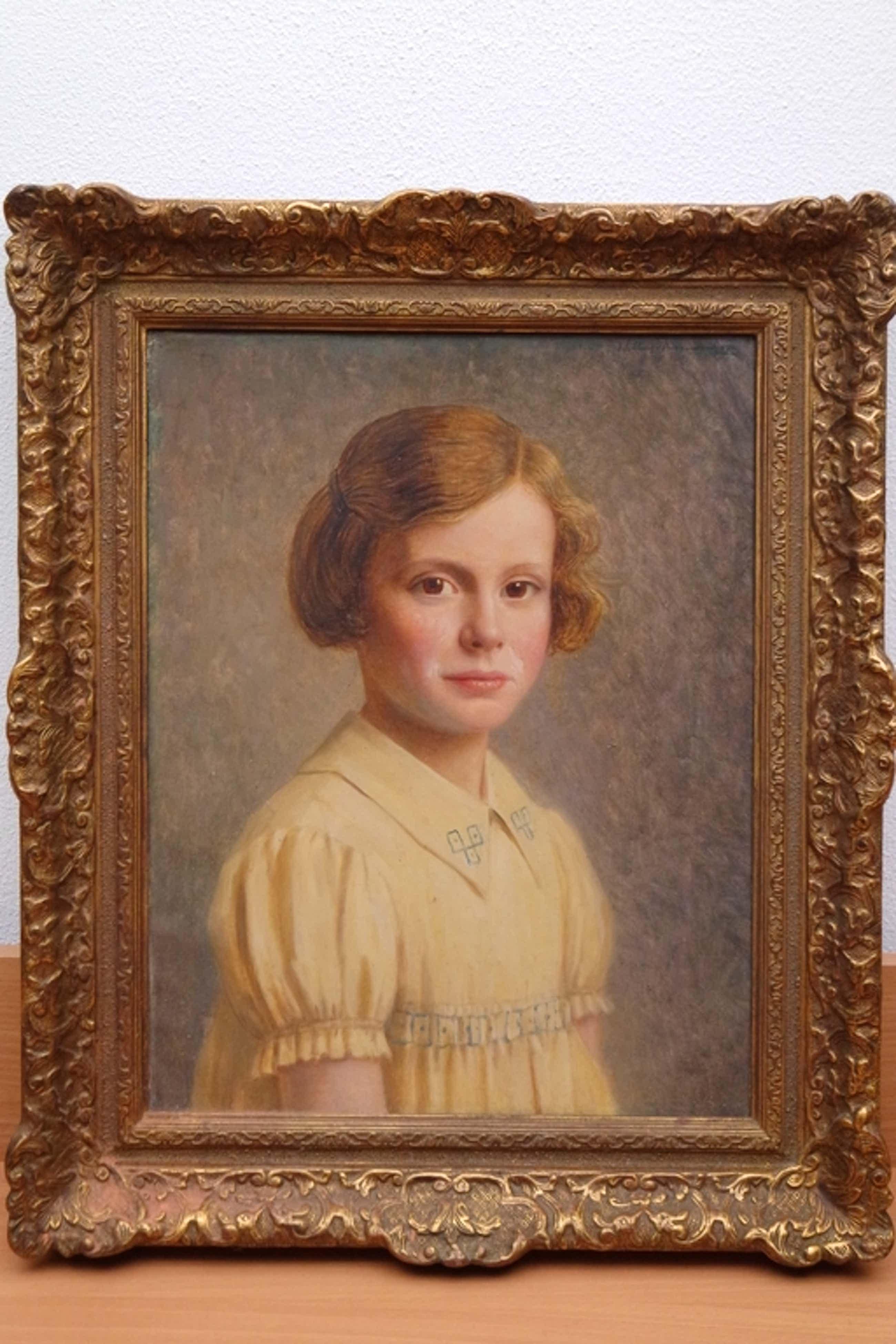 Willem van Nieuwenhoven (1879-1973) - olieverf op doek - portret van een meisje kopen? Bied vanaf 395!