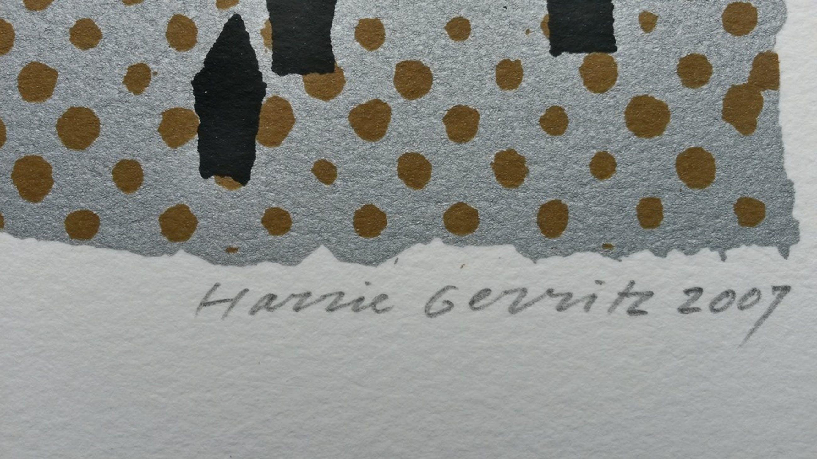 Harrie Gerritz - White Tower - zeefdruk kopen? Bied vanaf 35!