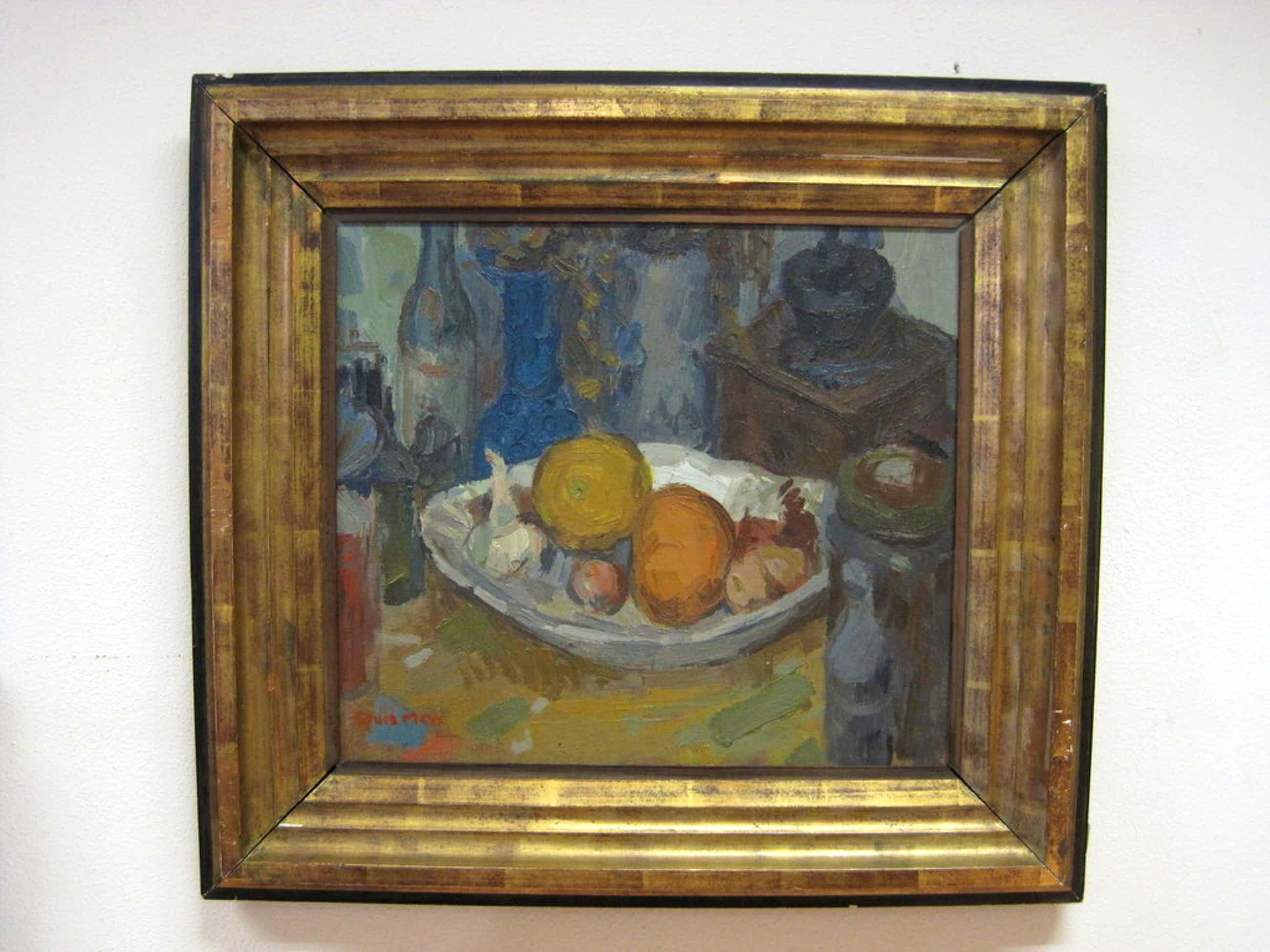 Louis Meys 1902-1995 kostbaar stilleven van Haagse colorist ! originele lijst ! kopen? Bied vanaf 415!