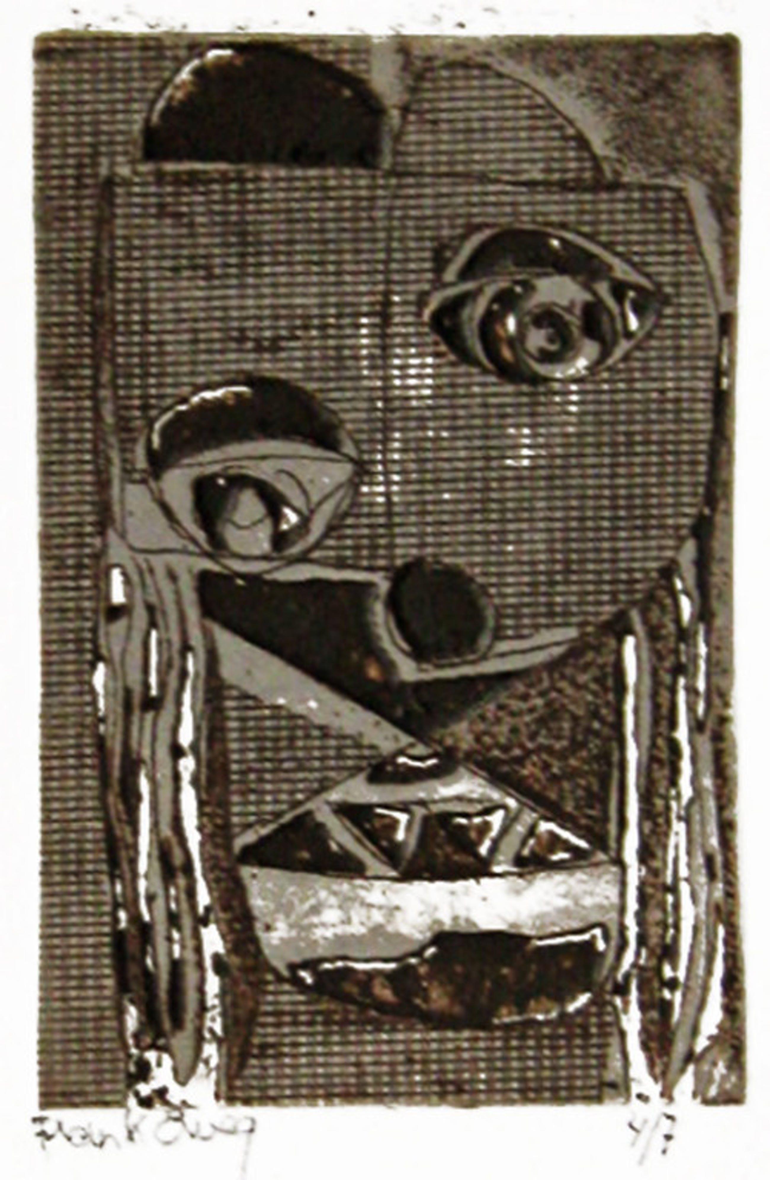 LAATSTE KANS! Frank Eweg - kleurenets op buetten, 1983. Oplage 4/7 kopen? Bied vanaf 1!
