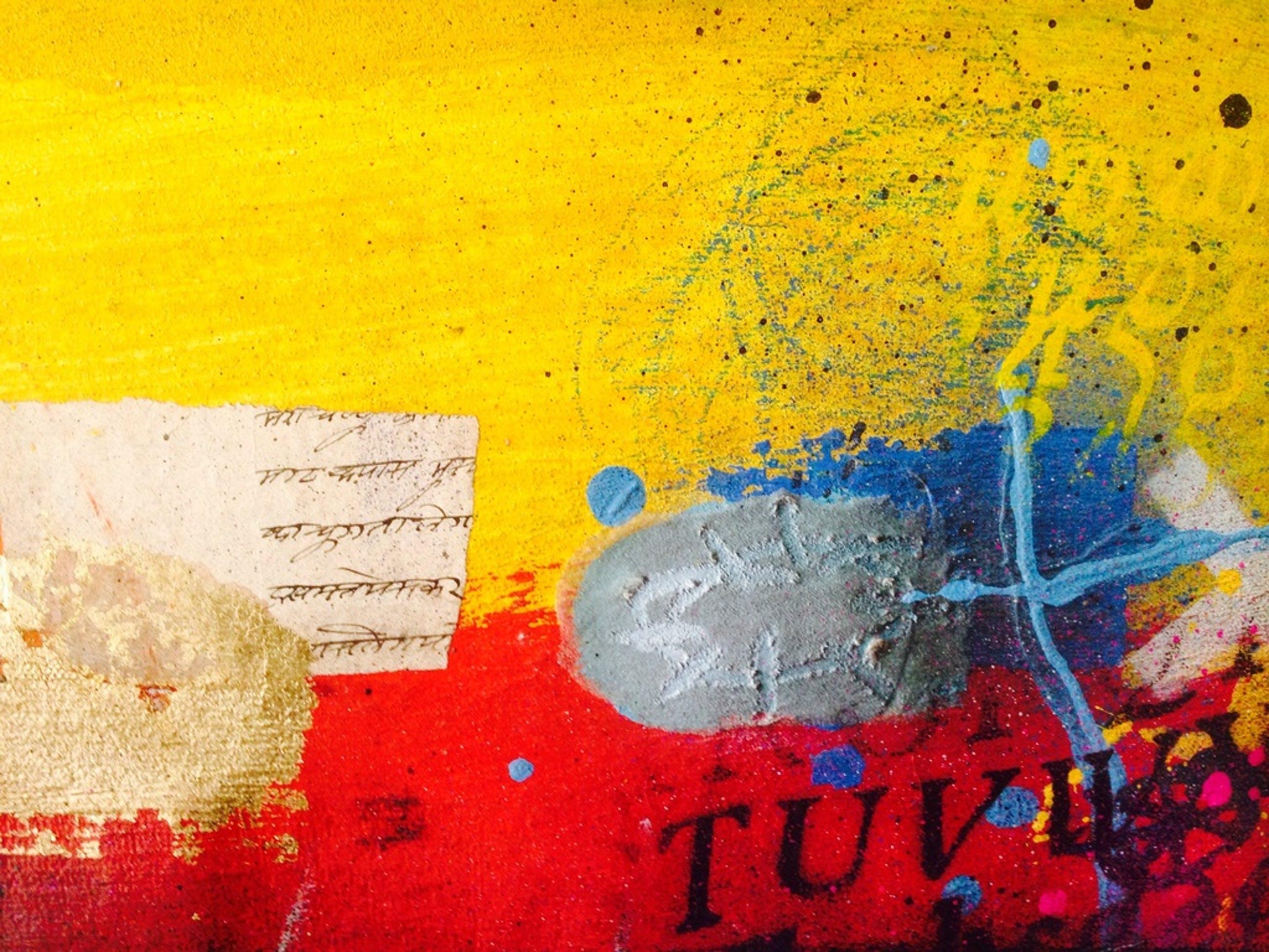 Theo koster, schilderij, autumn blues kopen? Bied vanaf 1!