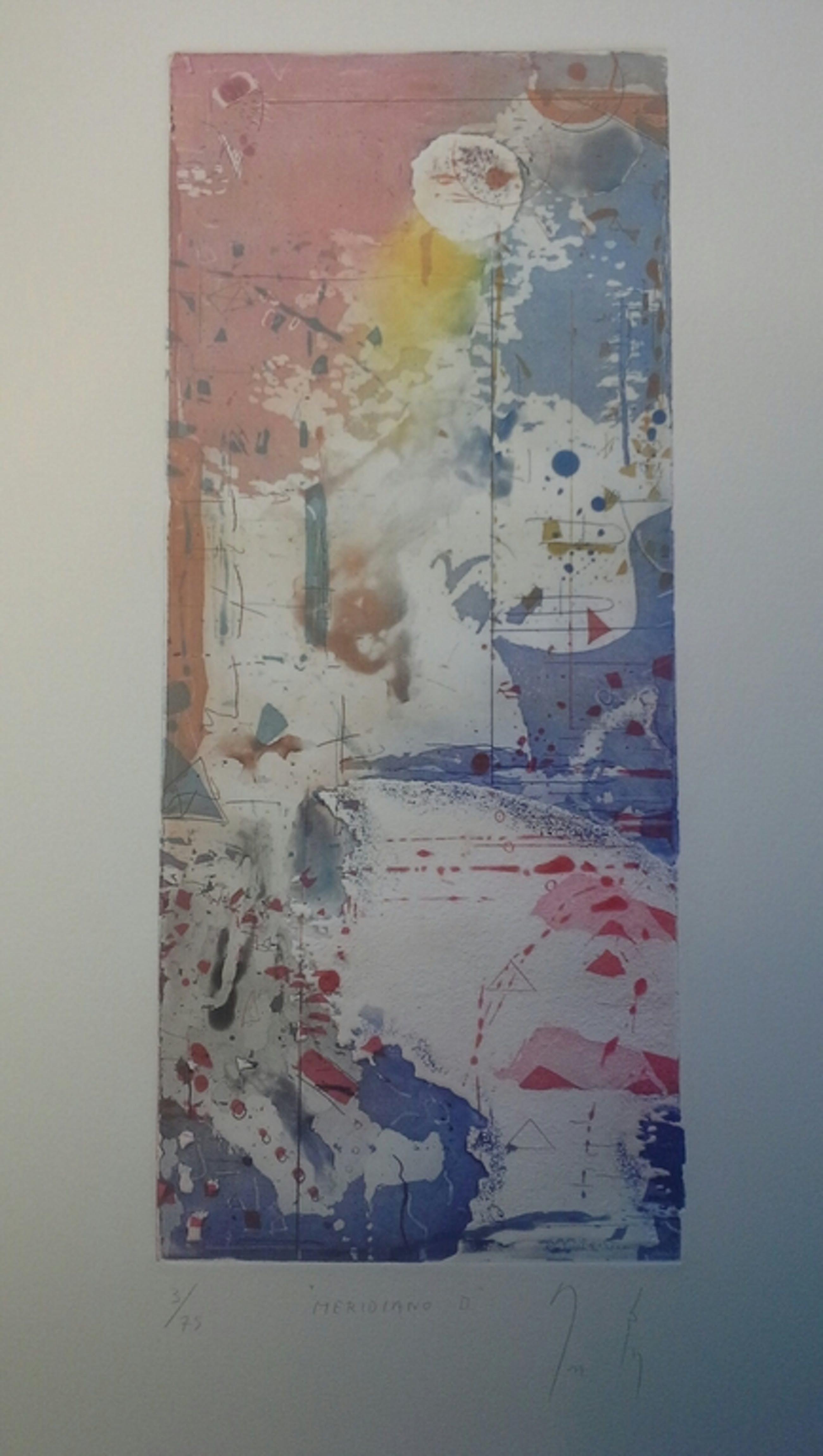 fraaie kleurets van een zuid amerikaanse kunstenaar. Meridiano II kopen? Bied vanaf 1!