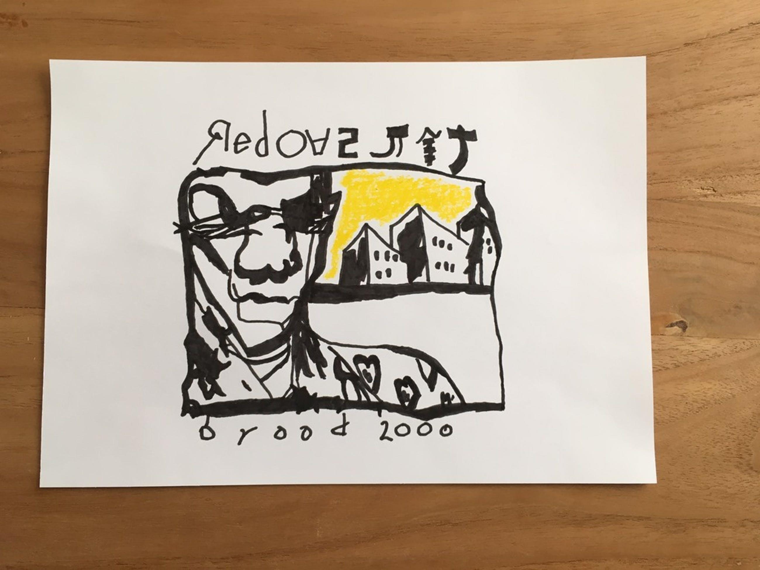 Herman Brood -Stift tekening- No Title kopen? Bied vanaf 100!