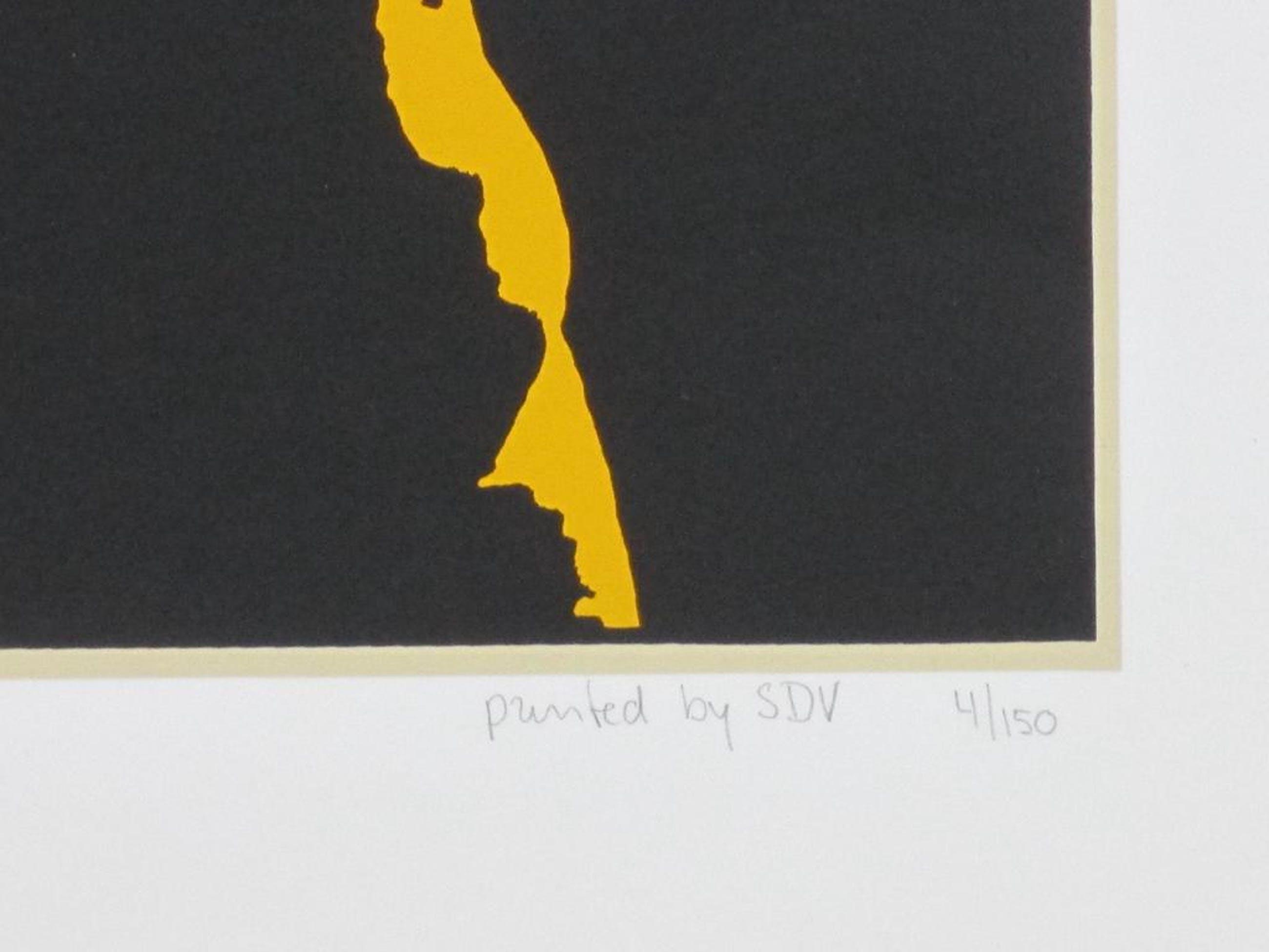 S.D.V. monogram, Earl Hines, Zeefdruk kopen? Bied vanaf 55!