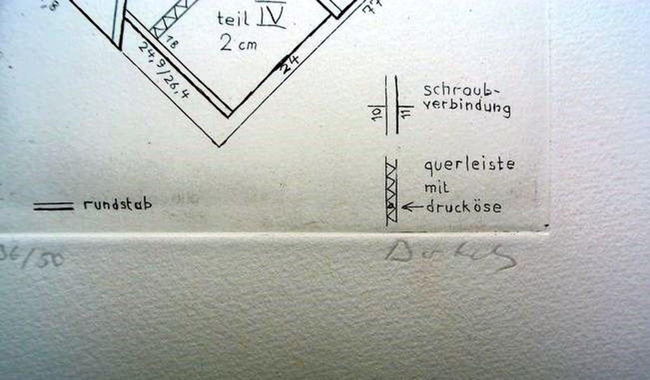 ZERO-Duitse kunstenaar Hermann Bartels (1928-1989) -gesigneerde ets  kopen? Bied vanaf 200!