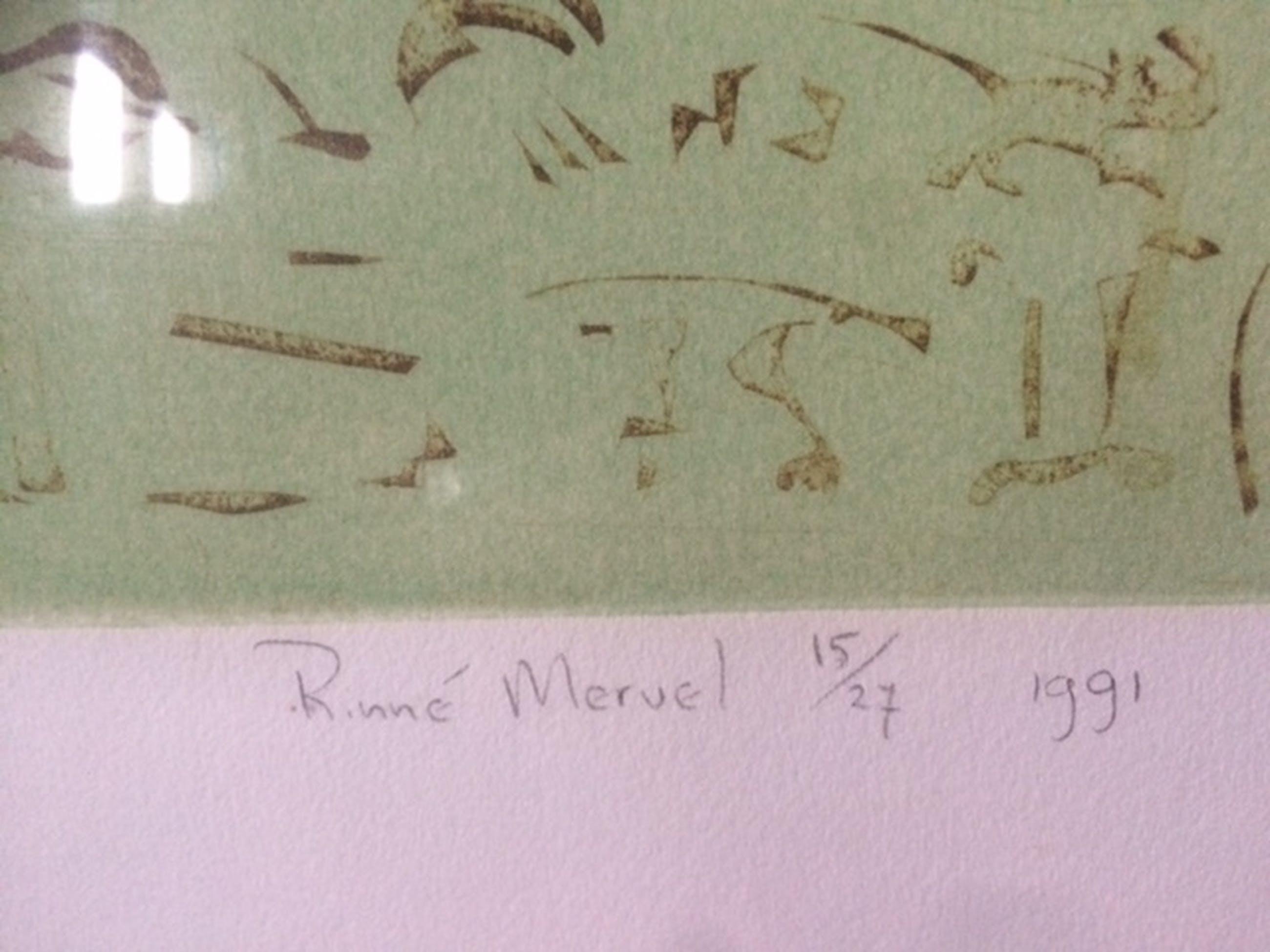 Rinne Mervel, kleuren zeefdruk , geen naam kopen? Bied vanaf 27!