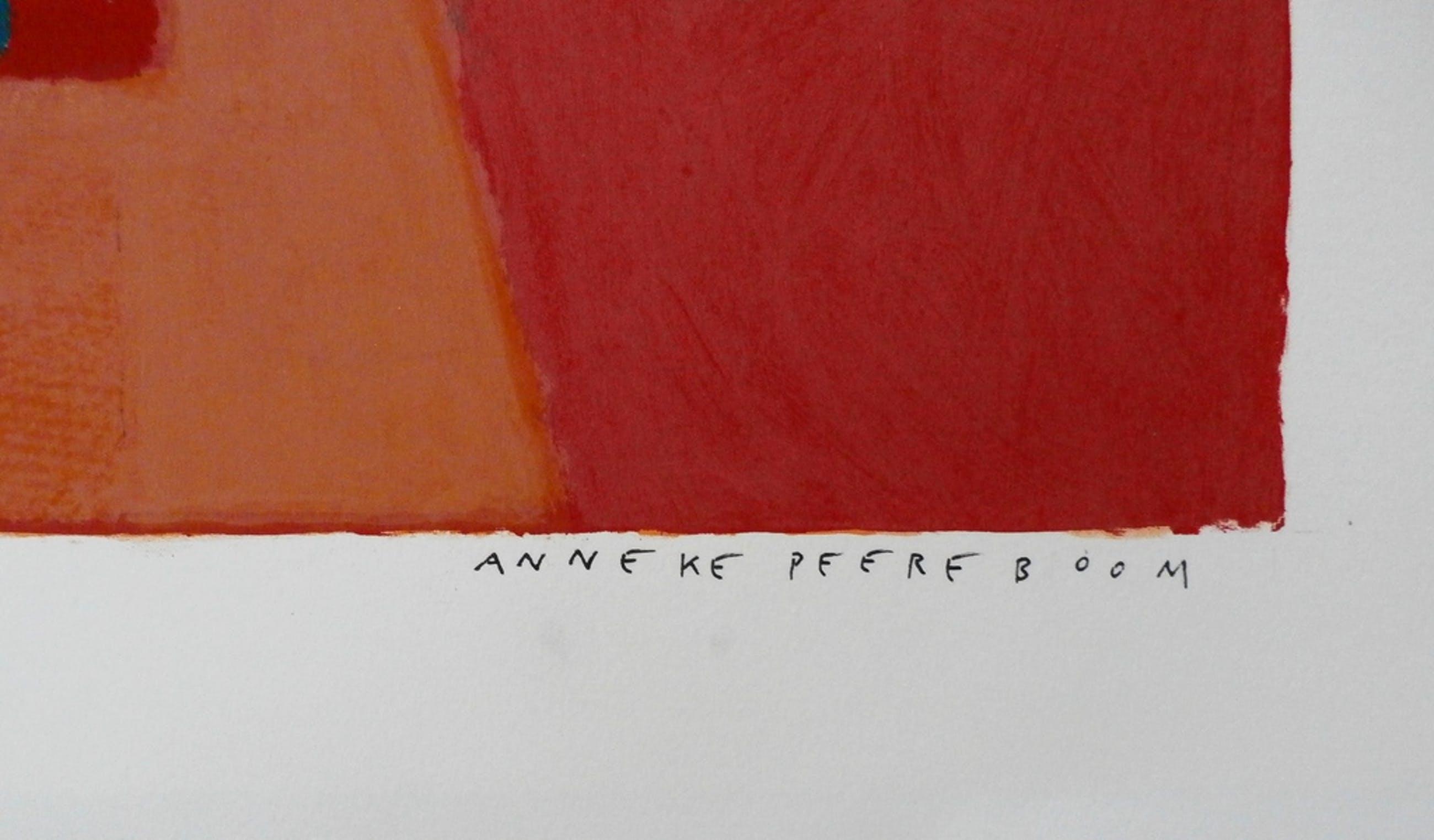 Anneke Peereboom - Grote kleurrijke zeefdruk kopen? Bied vanaf 75!