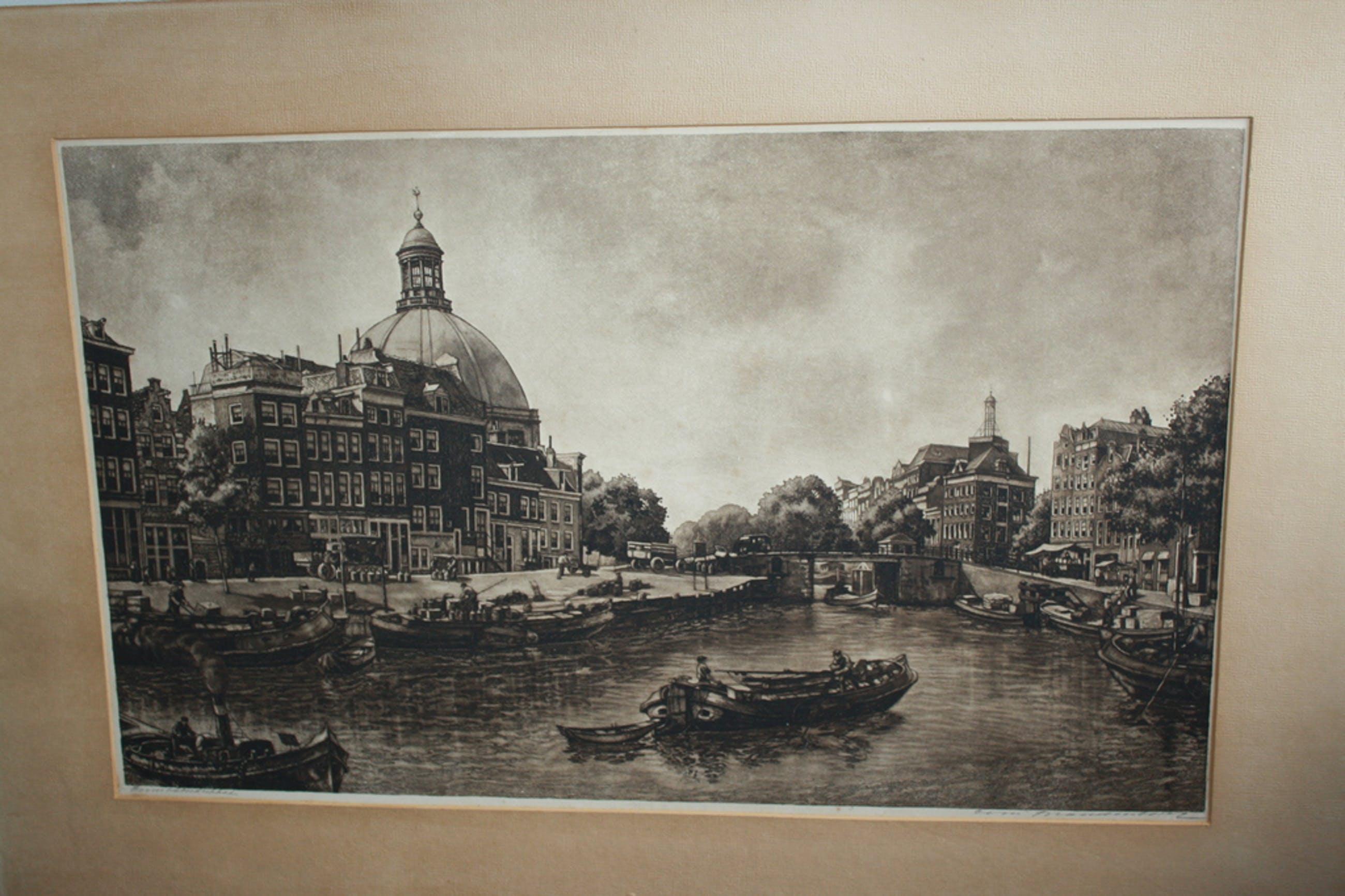 CORNELIS BRANDENBURG  - GROTE ETS PRINSHENDRIKKADE kopen? Bied vanaf 90!