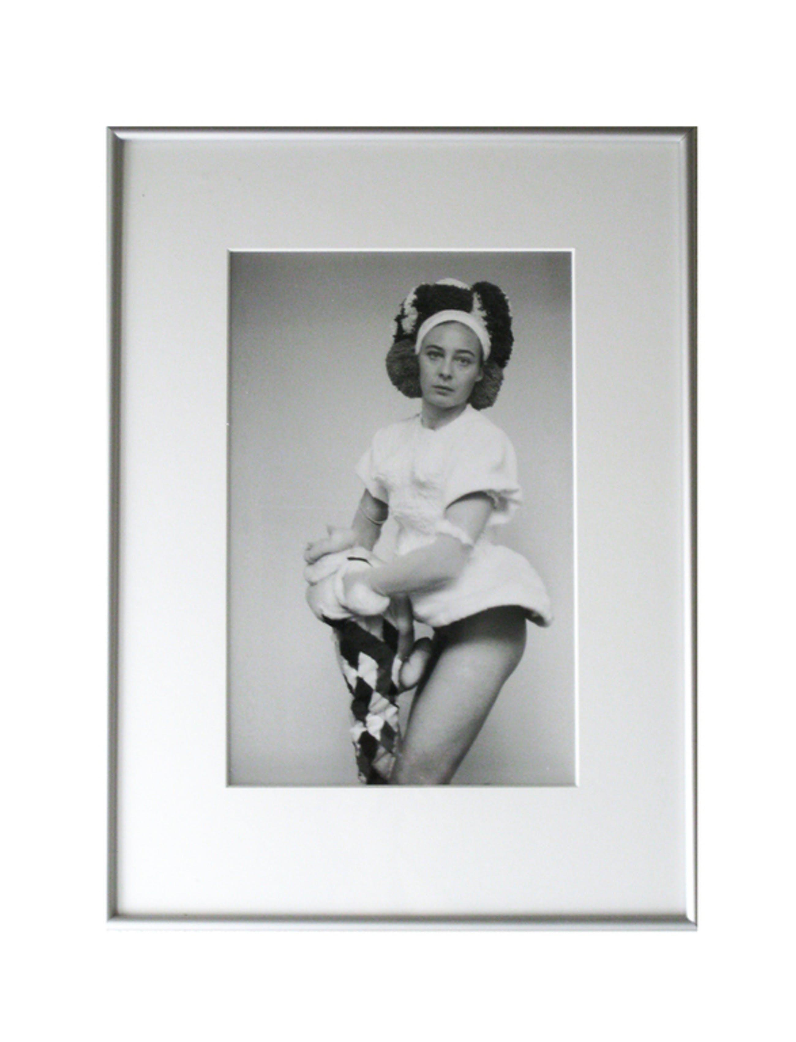 Lie van der Werff, Foto (unica), Zelfportret (met molton muts), 1995 kopen? Bied vanaf 175!