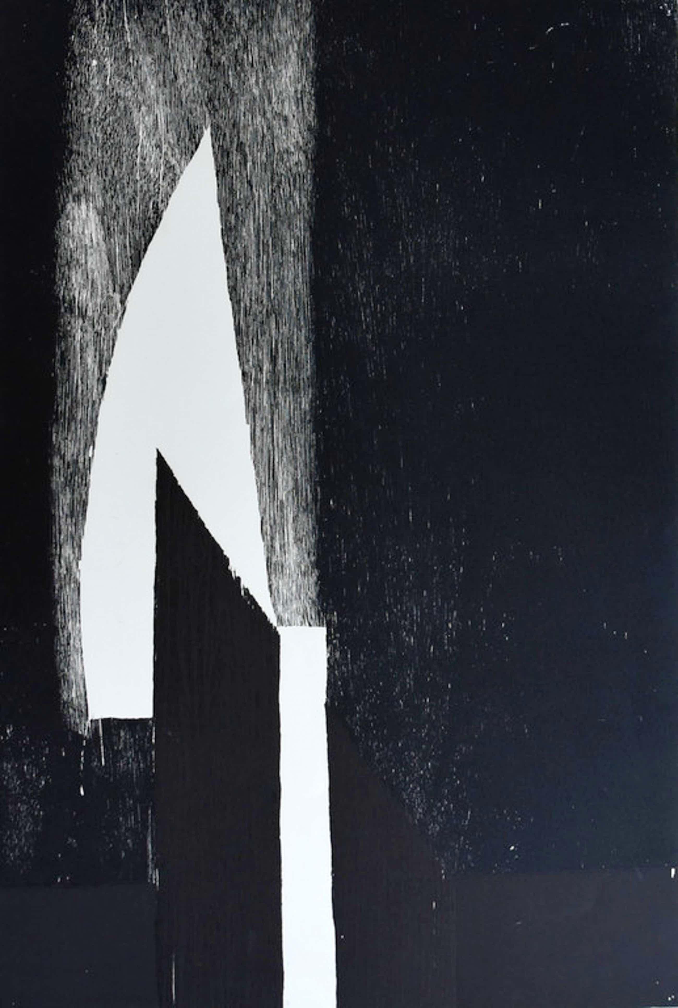 Guillaume Le Roy # COMPOSITIE # extreem groot formaat houtsnede, 1984, mint- kopen? Bied vanaf 90!