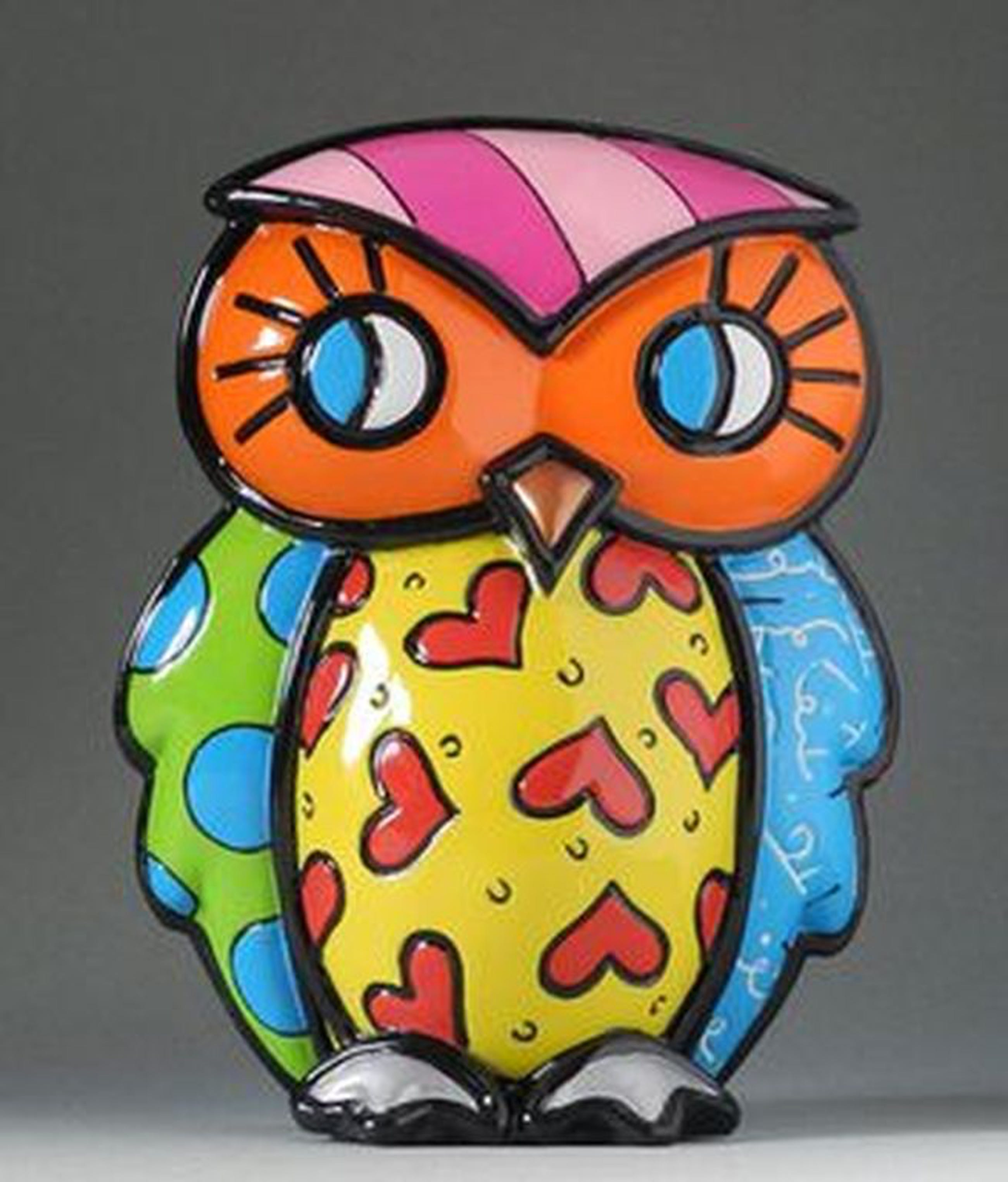 ROMERO BRITTO, beeld: Owl - Strenght kopen? Bied vanaf 39!