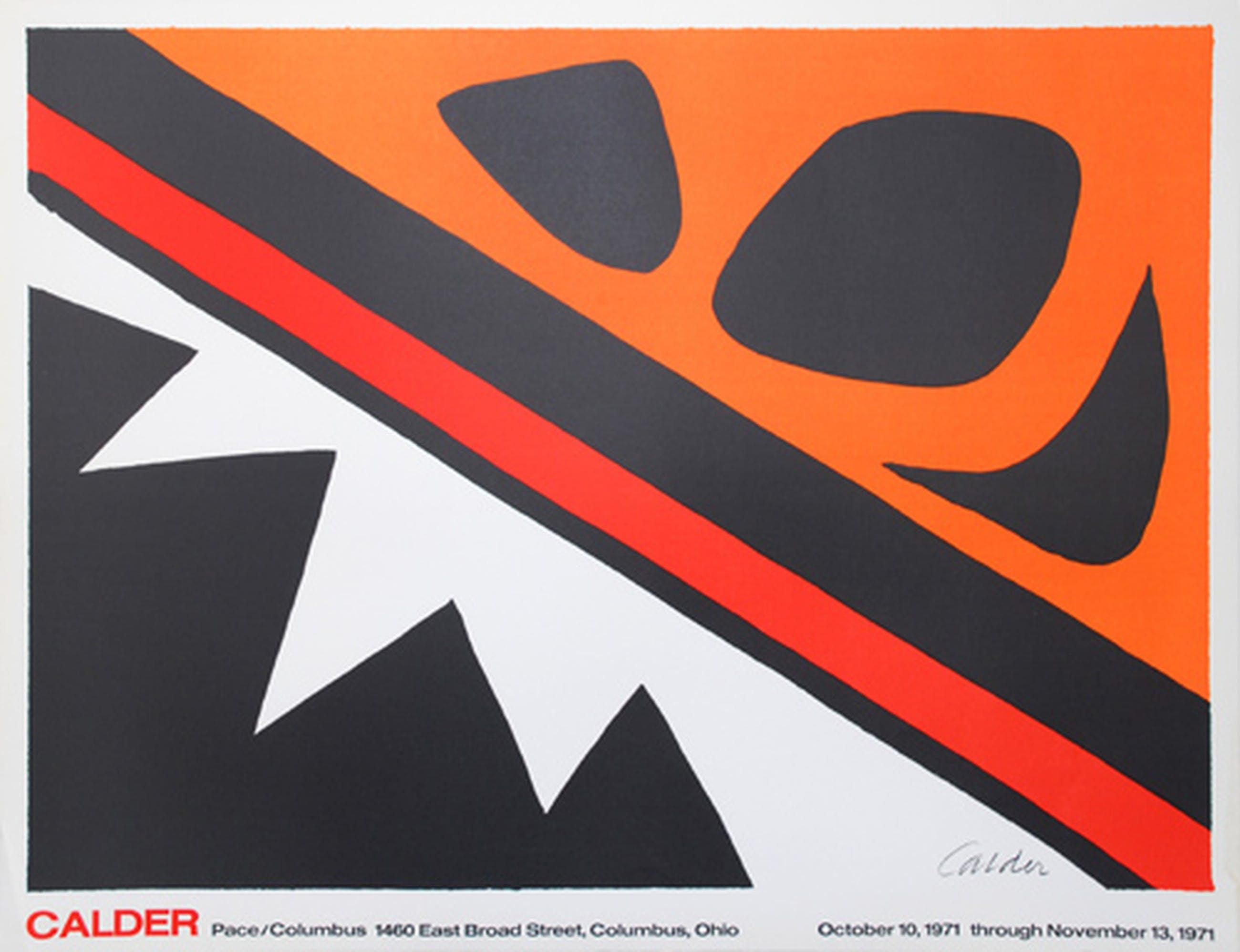Alexander Calder - Le Grenouille et Cie - in de steen gesign kopen? Bied vanaf 40!