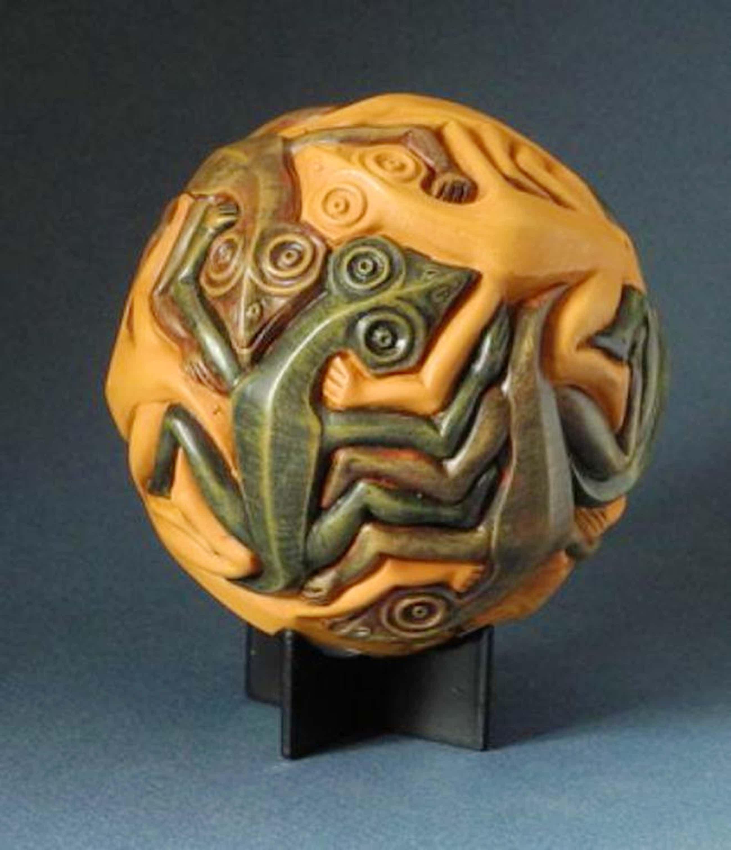 MC ESCHER, 3D-sculpture: Reptiles, Maple kopen? Bied vanaf 39!