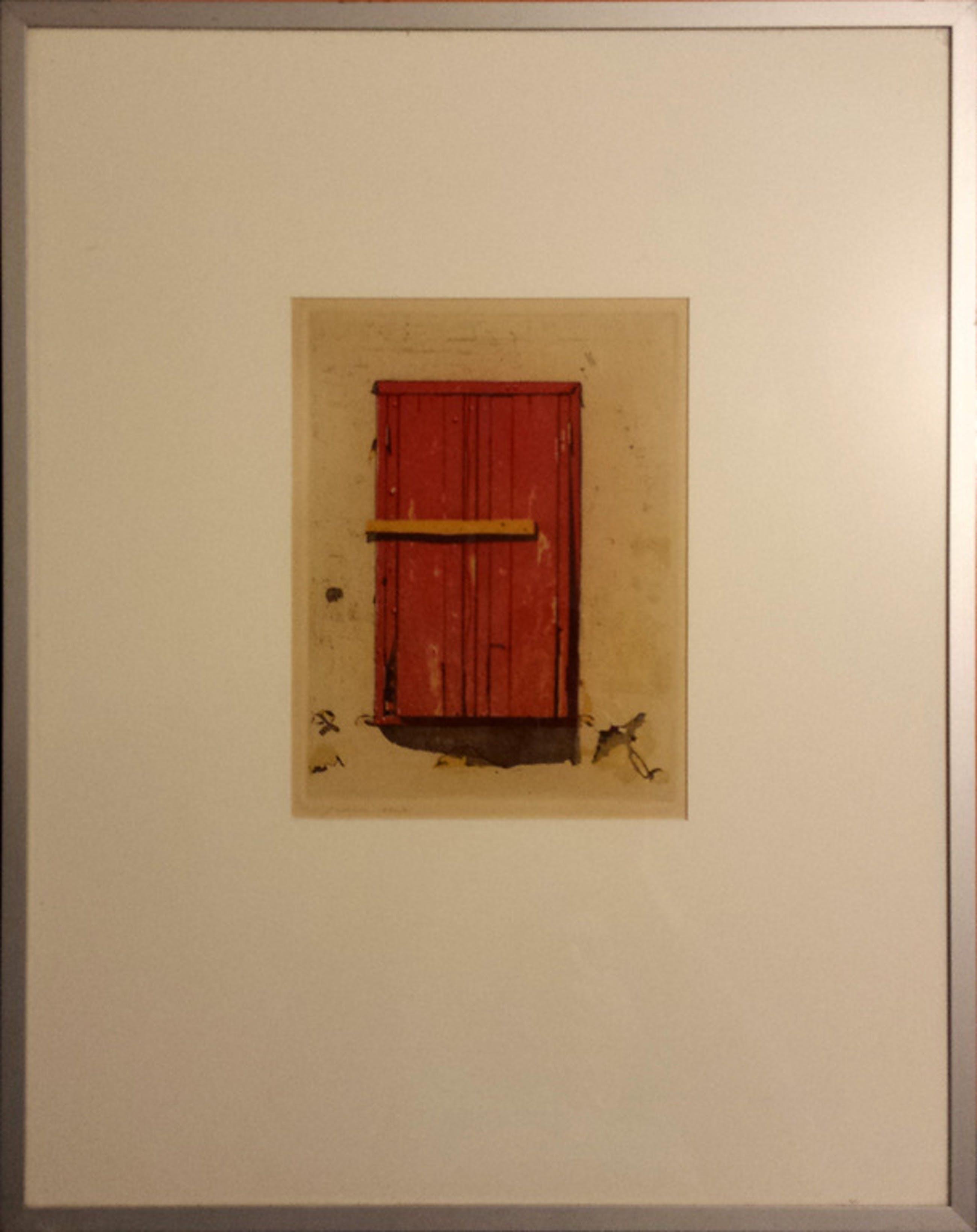 Kees Slegt, Ets nr 2, Calle que no paso, 1980 kopen? Bied vanaf 5!