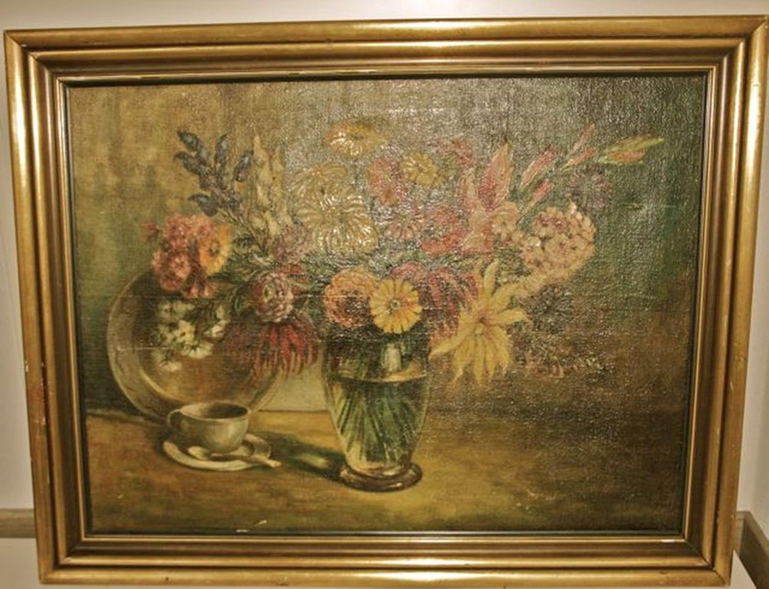 kunstenaar onbekend: Bloemstilleven kopen? Bied vanaf 10!