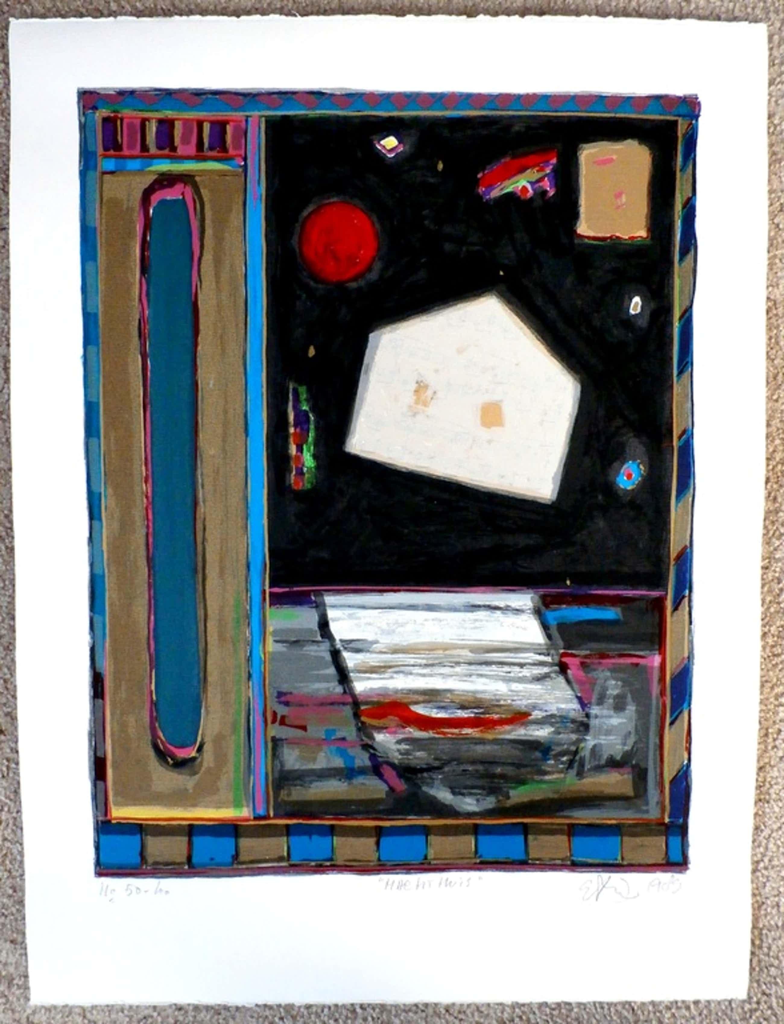 Eric Toebosch - portfoliomap - 4 zeefdrukken - 1989  kopen? Bied vanaf 120!