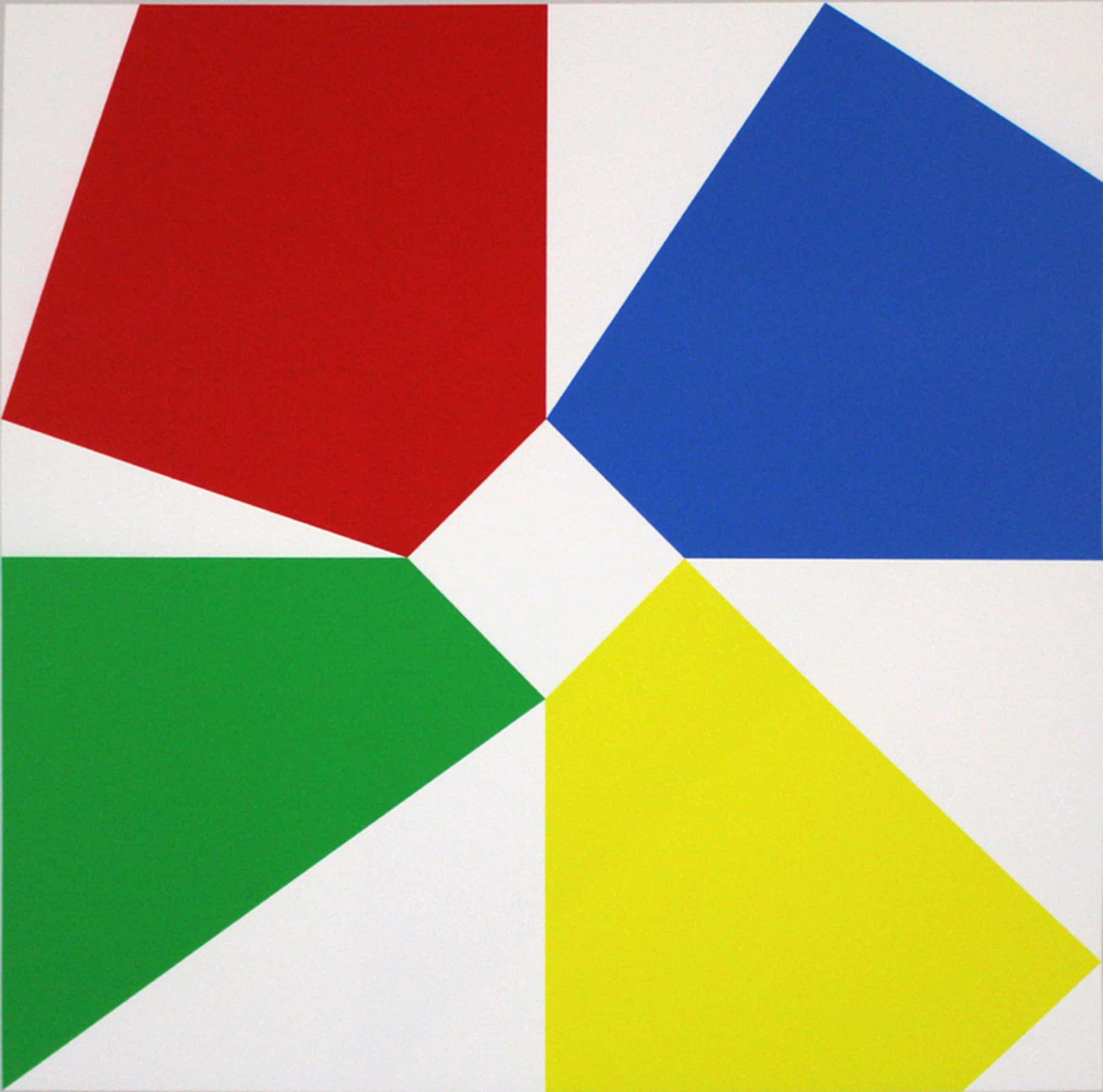Bob Bonies. Giclee -Geometrische compositie- 2016. Nieuw werk. kopen? Bied vanaf 135!