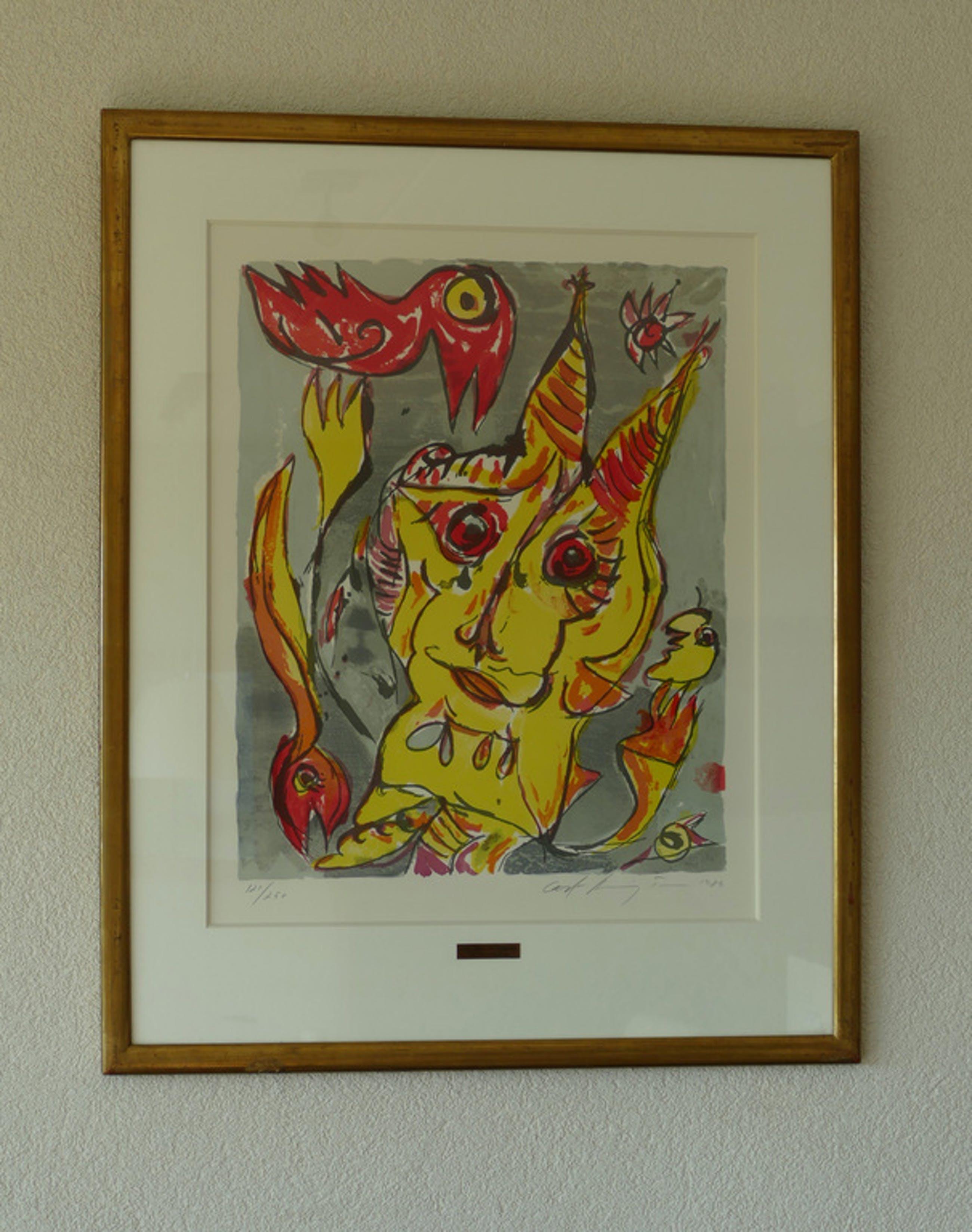 Carl Henning Pedersen - The Hill of the Elves - Kleurenlithografie  kopen? Bied vanaf 120!