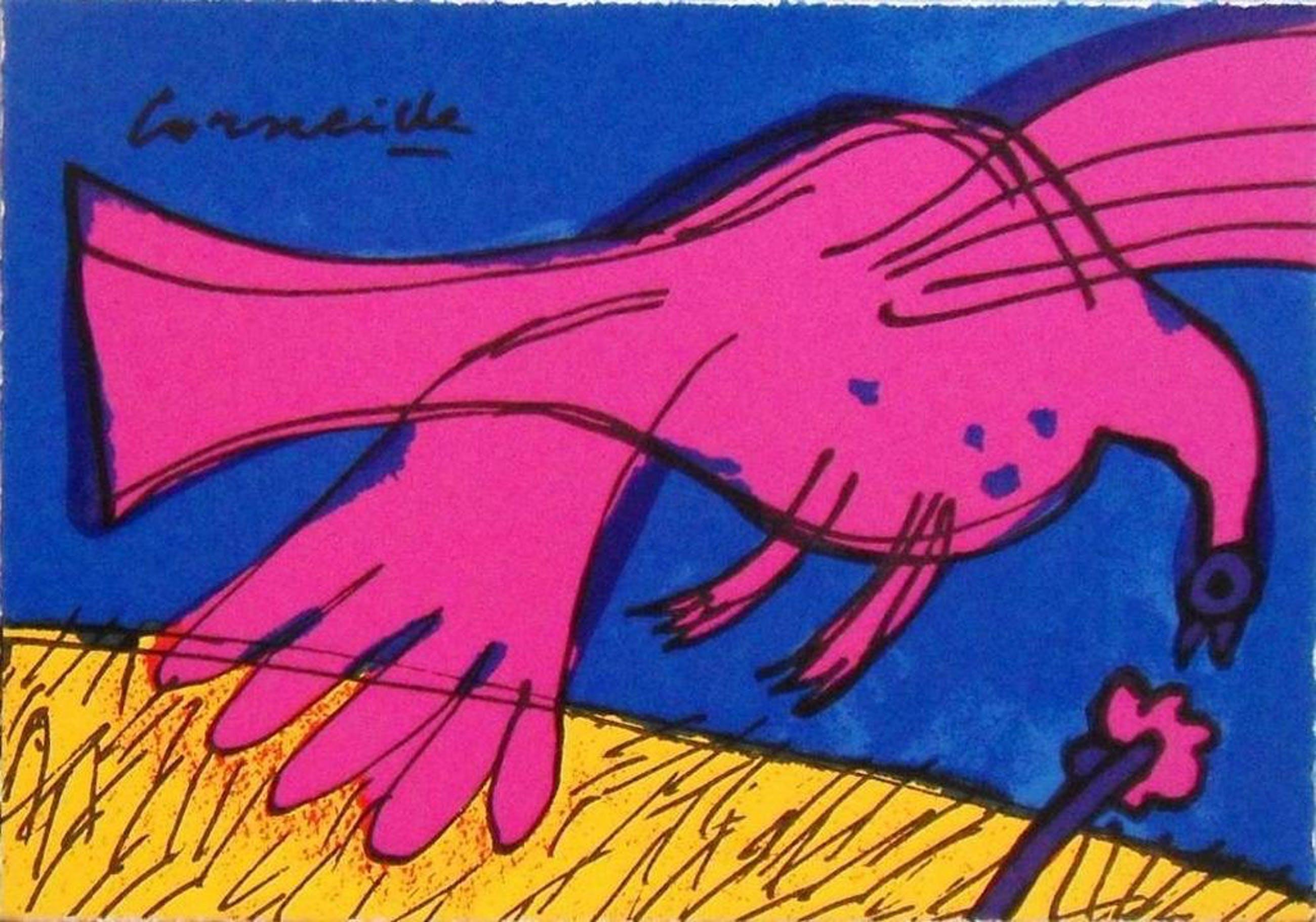 Corneille: vogel in roze kopen? Bied vanaf 1!