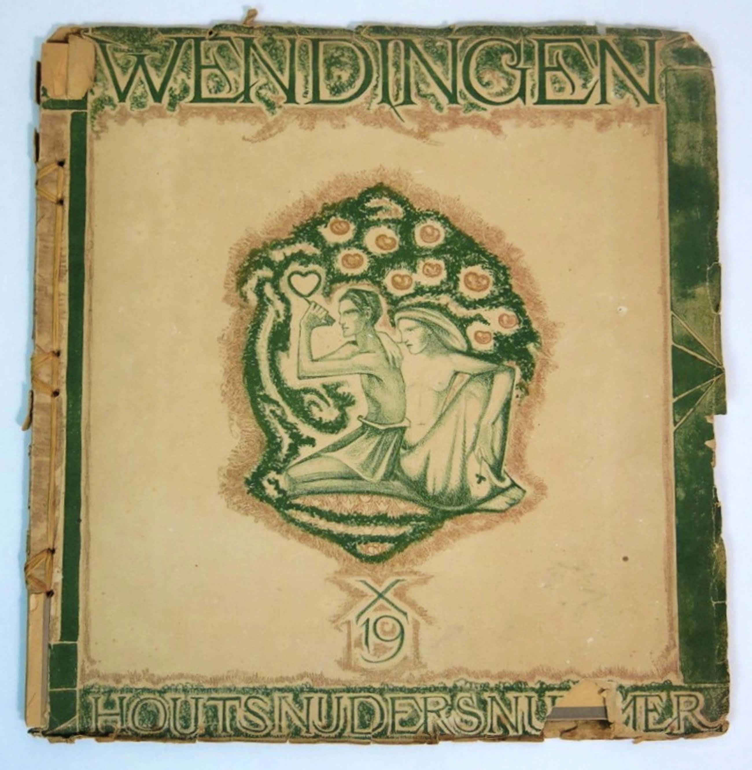 Wendingen houtsnedennummer 1919 kopen? Bied vanaf 190!