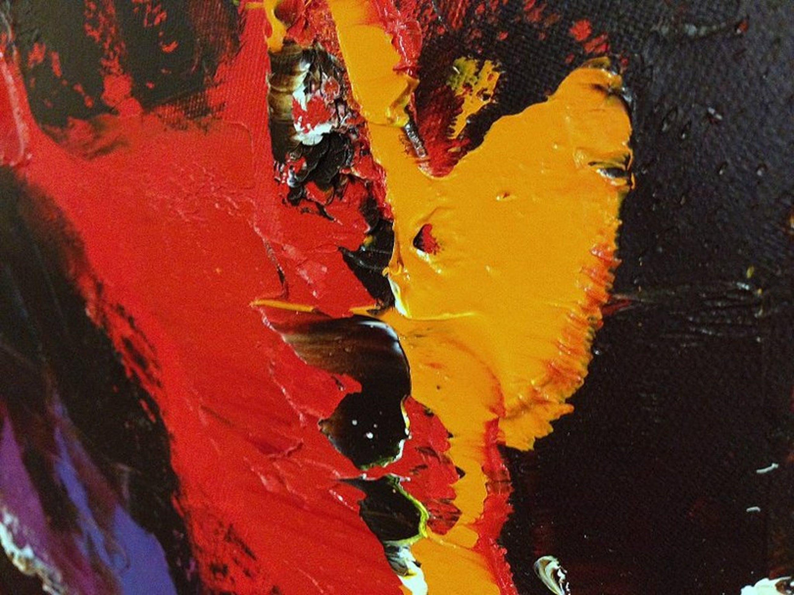 Jochem de Graaf: origineel schilderij (olieverf) Abstract 120x100 cm  kopen? Bied vanaf 150!