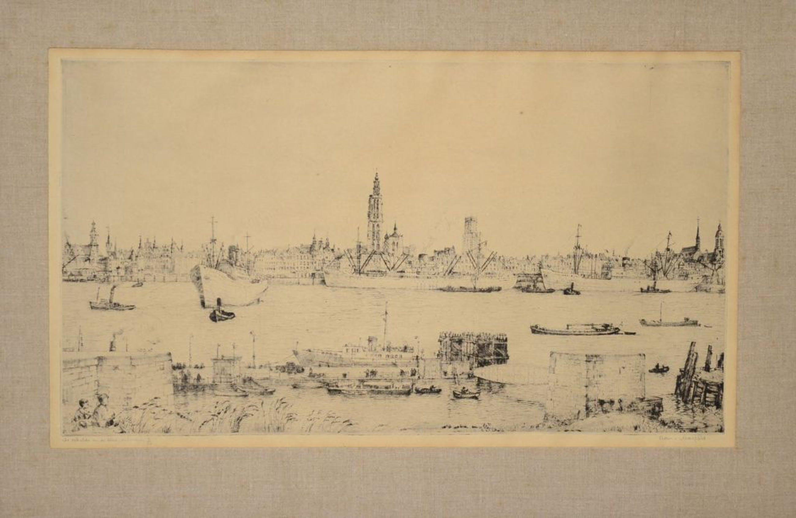 Romain Malfliet: Ets. De Schelde en de stad (Antwerpen) kopen? Bied vanaf 1!